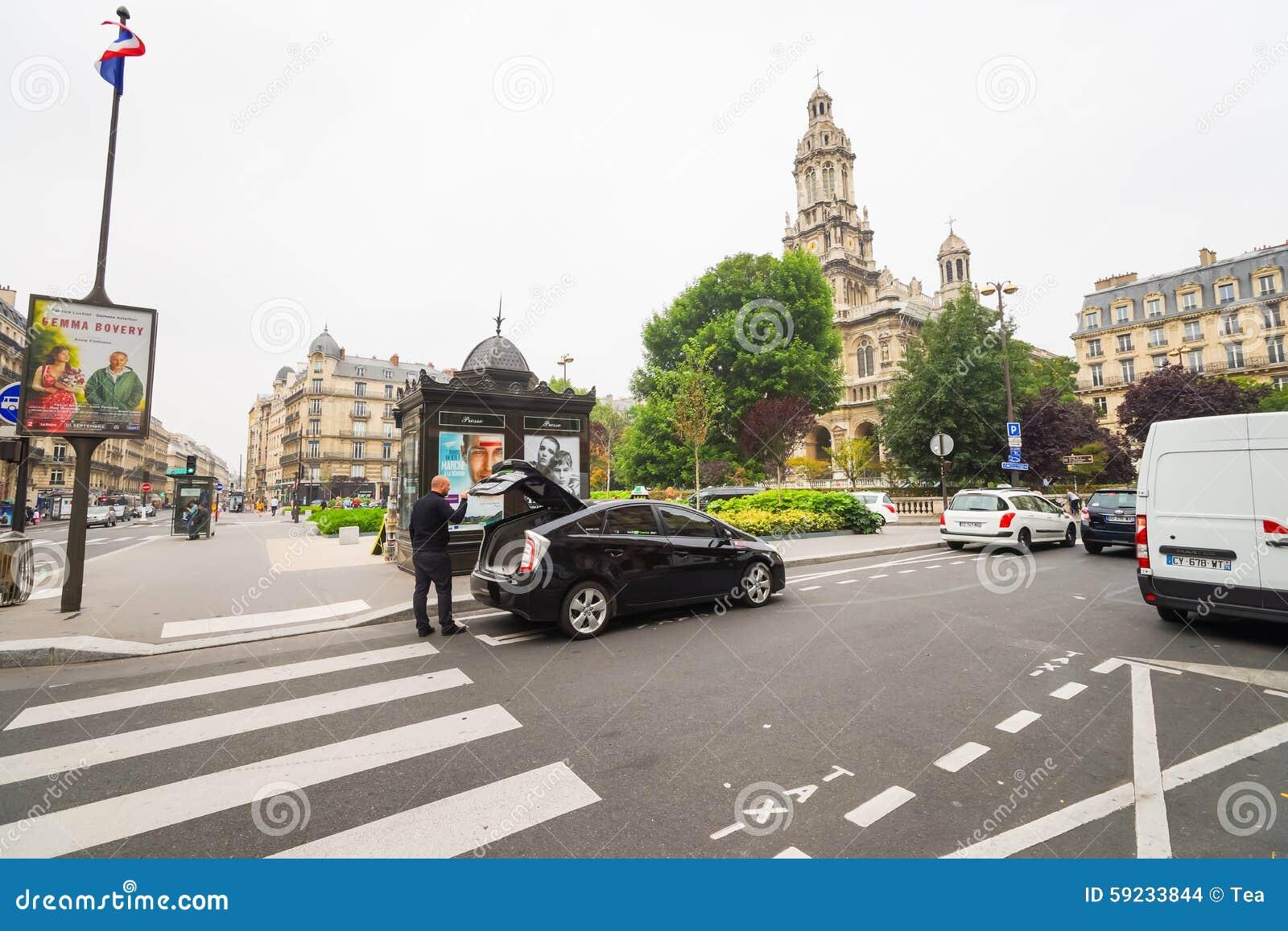 Download Calles de París imagen de archivo editorial. Imagen de cebra - 59233844