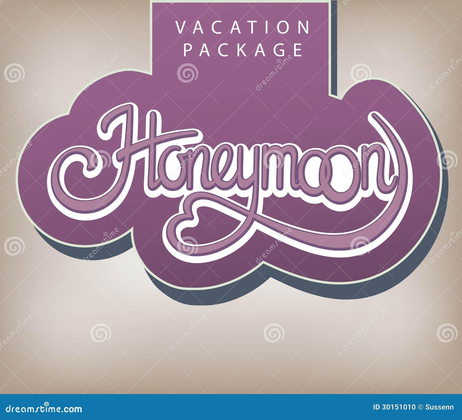 Vacation package Honeymoon