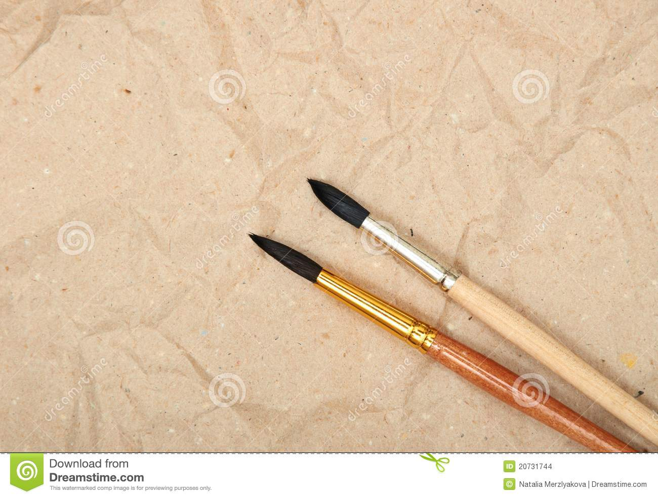 Calligraphy brush stock images image