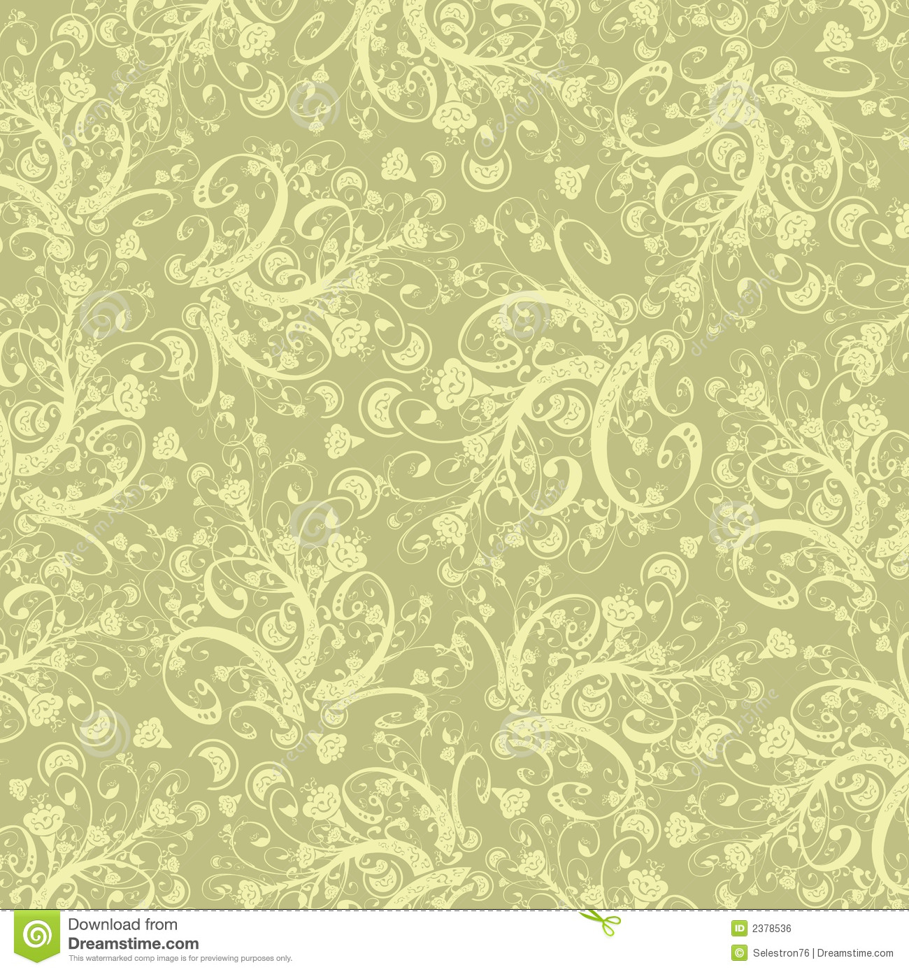 Calligraphy Flowers Wallpaper Royalty Free Stock Image - Image ...