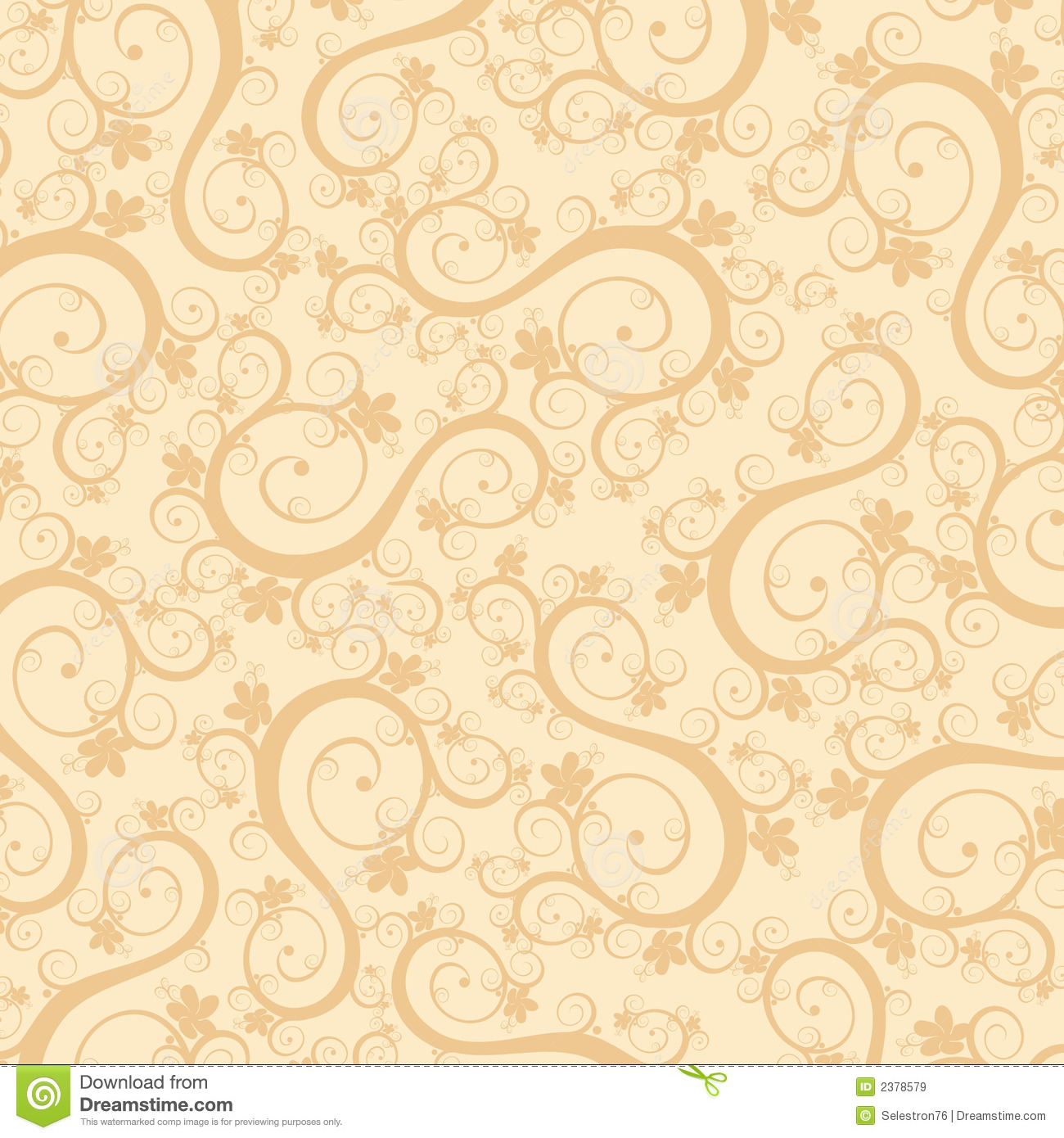 calligraphy flowers wallpaper royalty free stock images