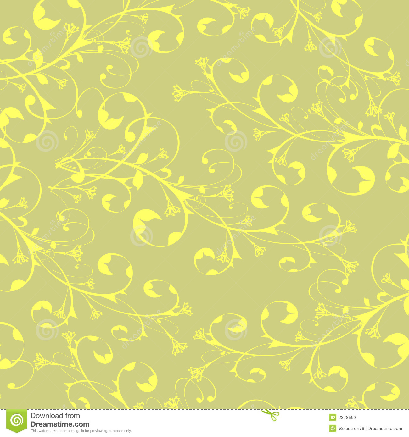 Calligraphy flowers wallpaper stock photography image