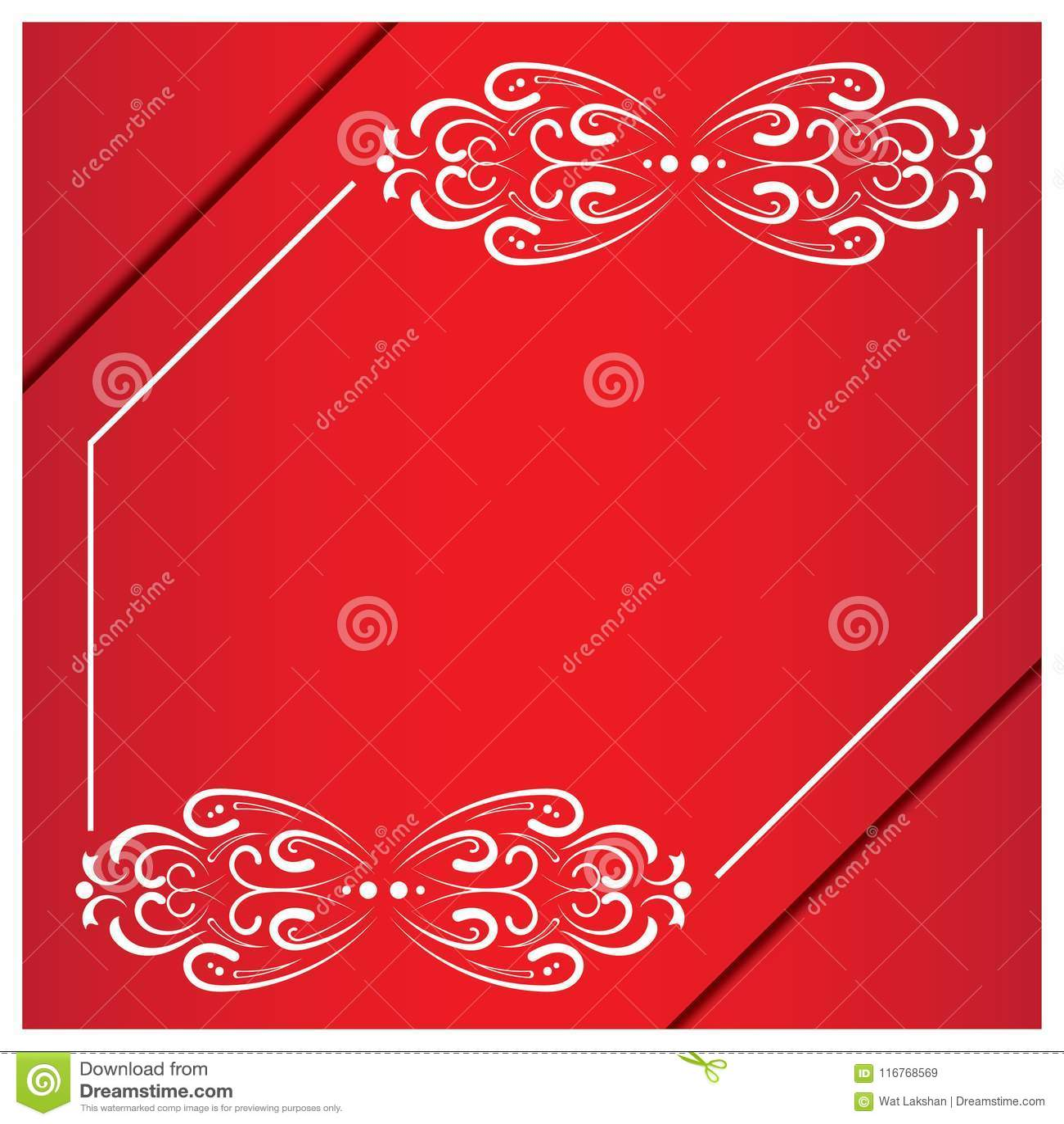 Vintage Wedding Invitation Frames Vector Design Stock Vector ...