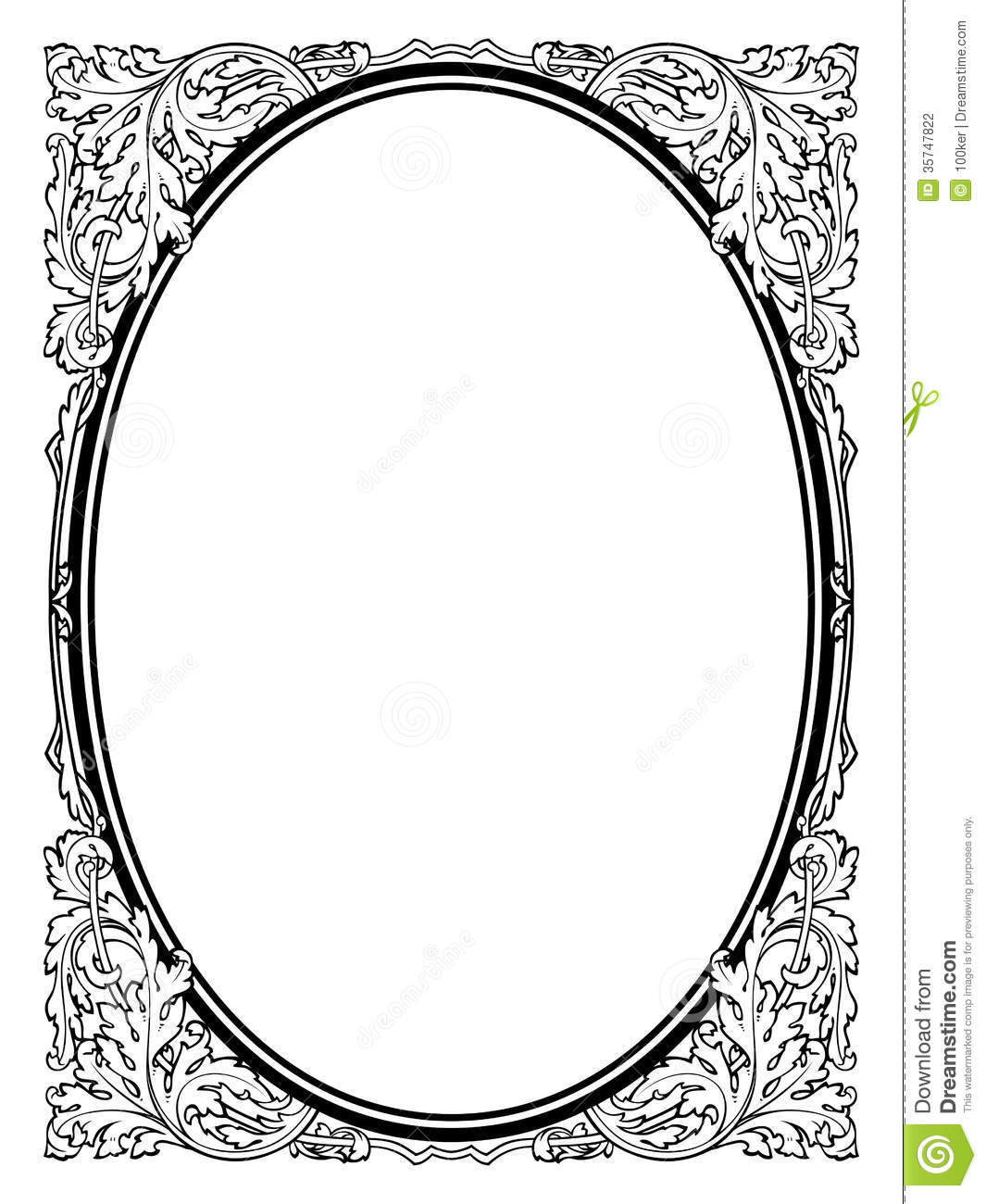 calligraphy penmanship oval baroque frame black stock vector illustration of deco arabesque. Black Bedroom Furniture Sets. Home Design Ideas