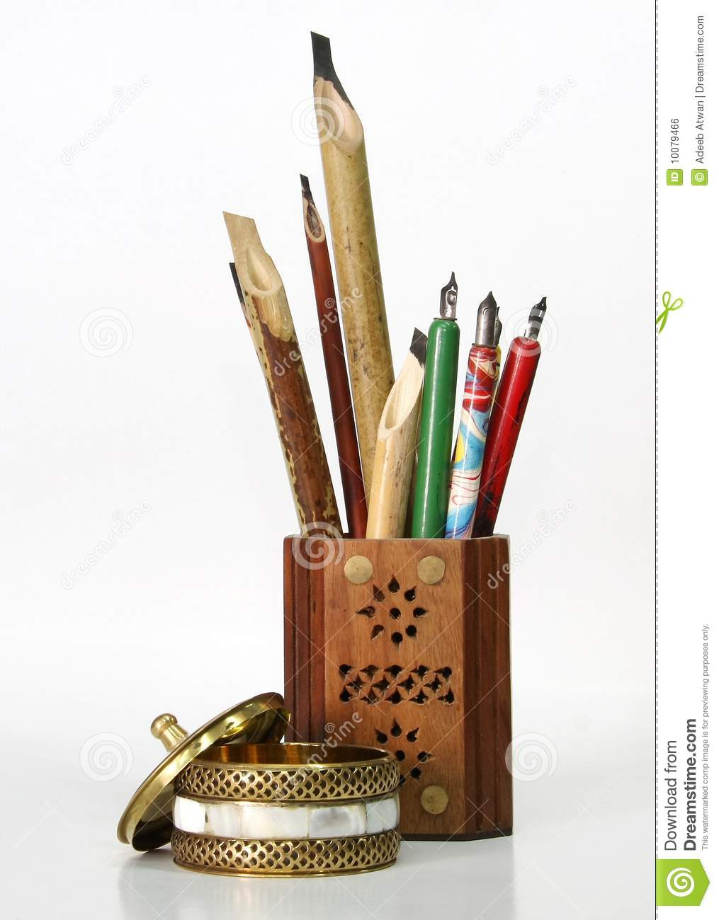 Calligraphy tools royalty free stock image image 10079466 Arabic calligraphy tools