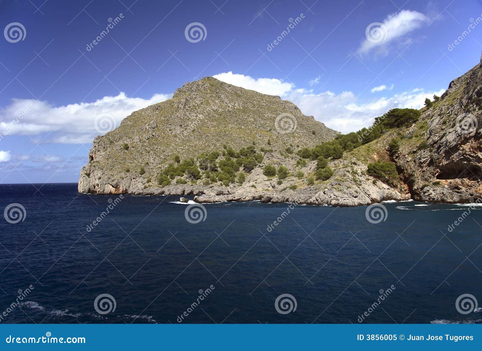Calobra Mallorca sceniczny