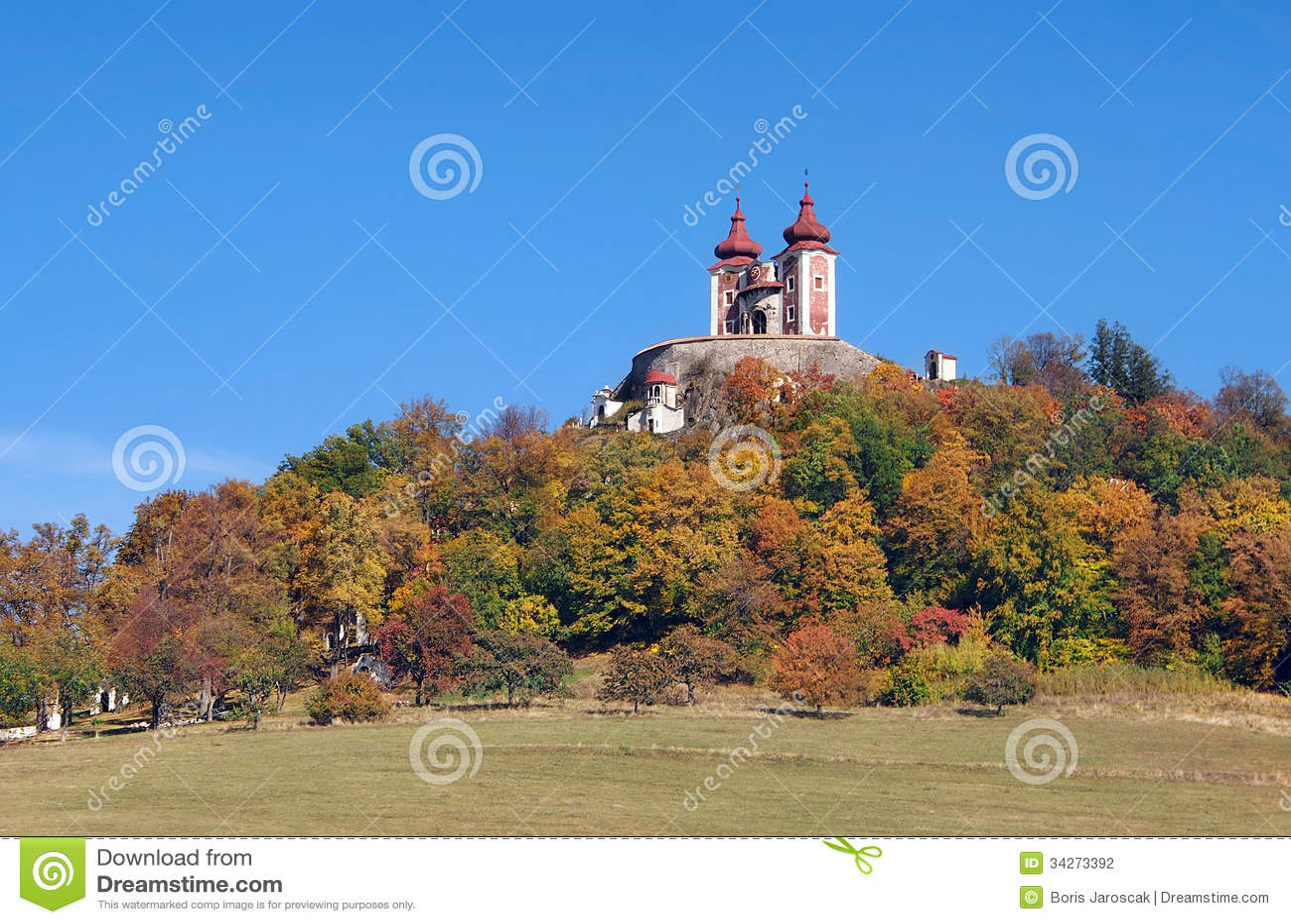 Calvary on Ostry vrch, Banska Stiavnica