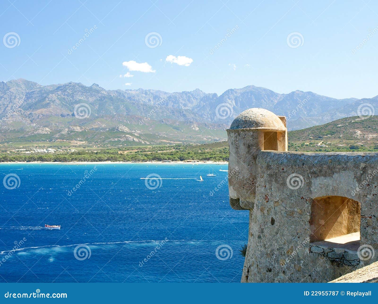 Calvi Citadel, Corsica, France