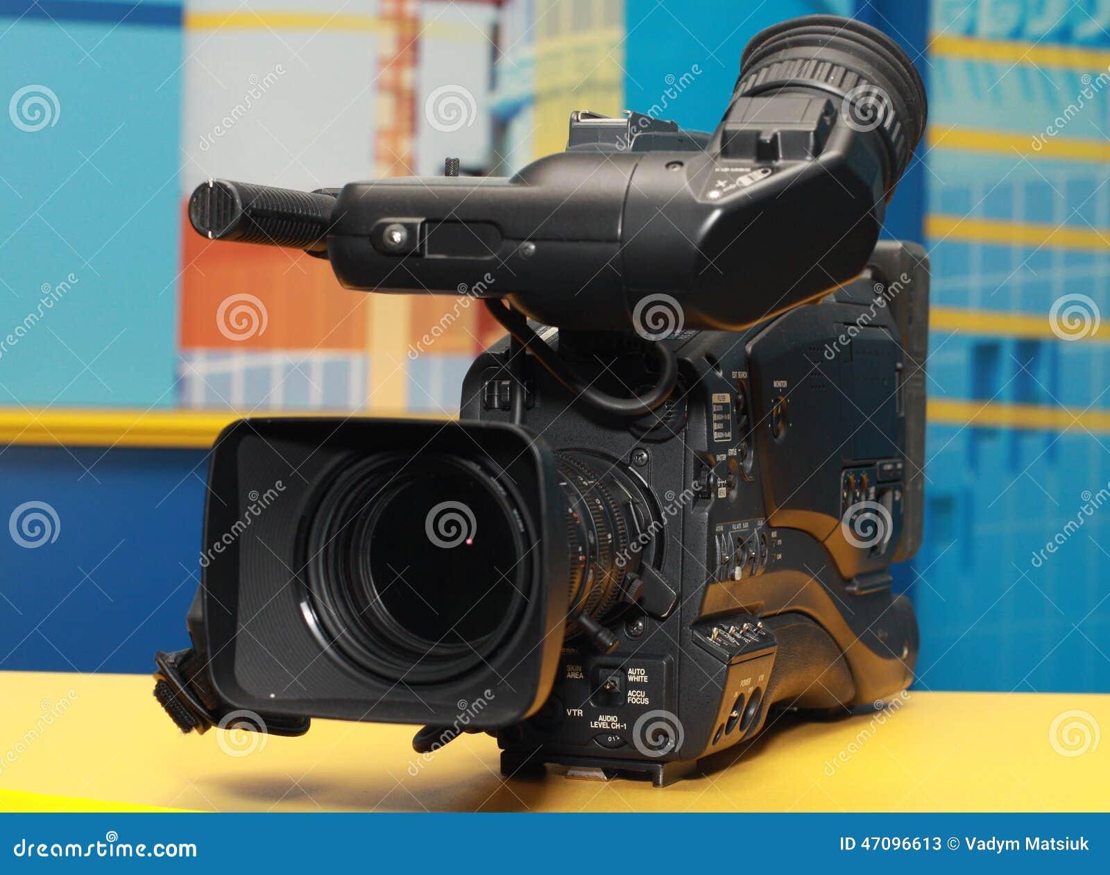 Caméra vidéo digitale professionnelle