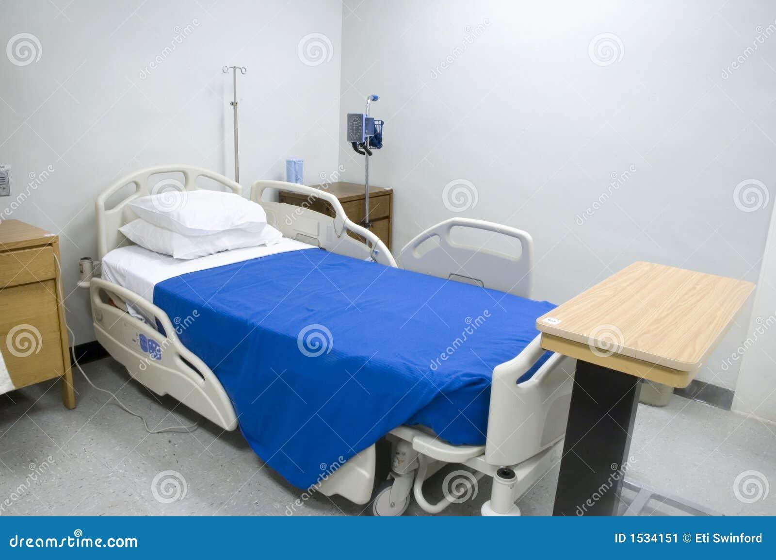 cama de hospital 2 imagem de stock imagem 1534151