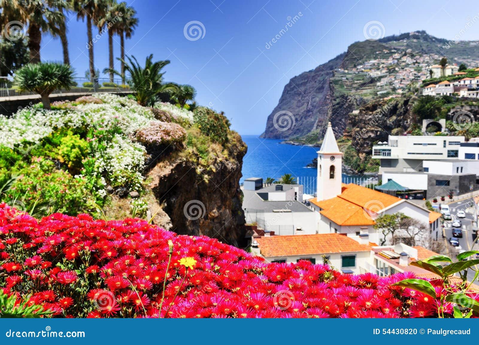 Camara de Lobos, petit village de pêcheur sur l île de la Madère