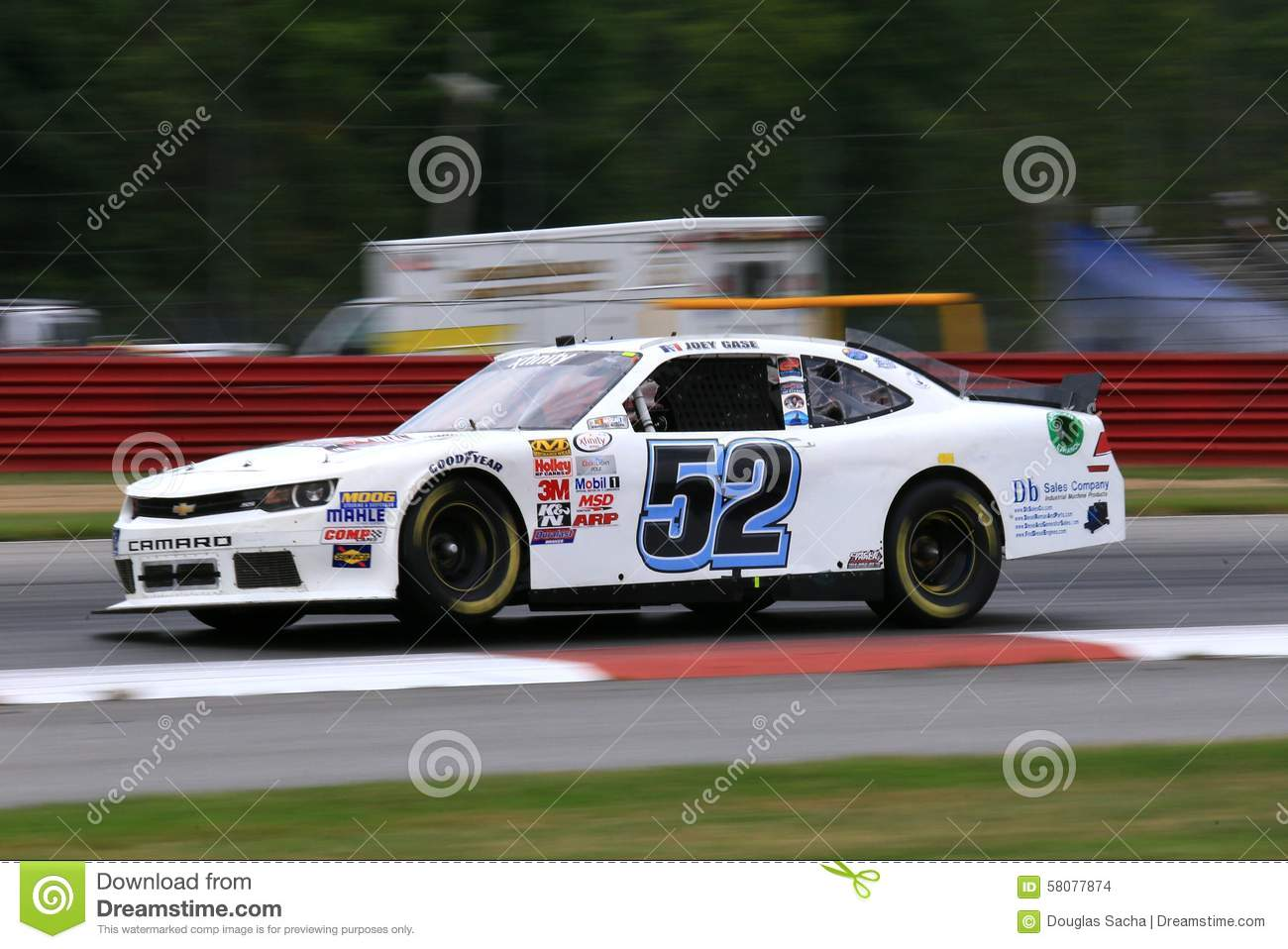 Camaro powered stock car editorial stock image  Image of gopro