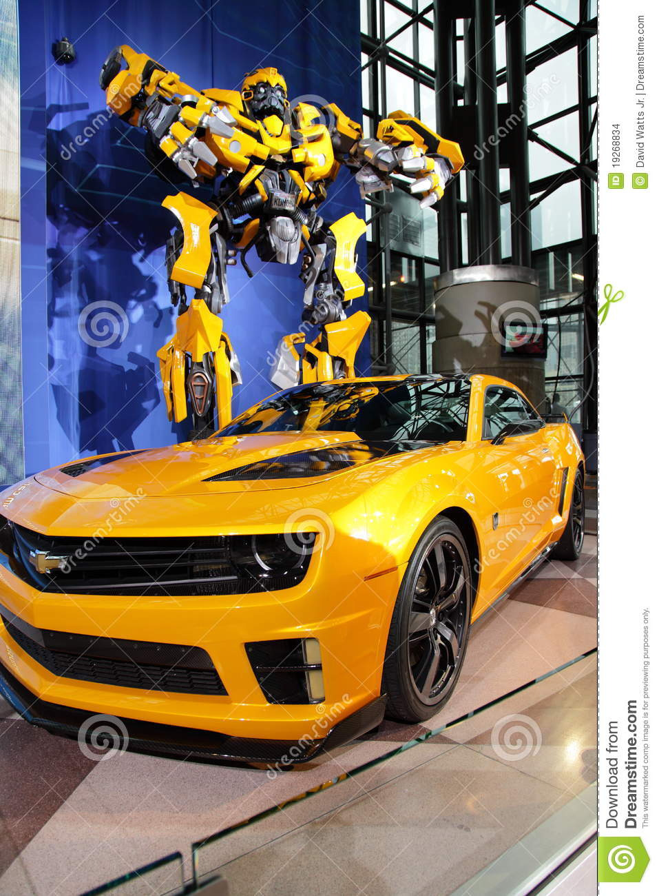 Camaro Amp Transformer At Ny International Auto Show
