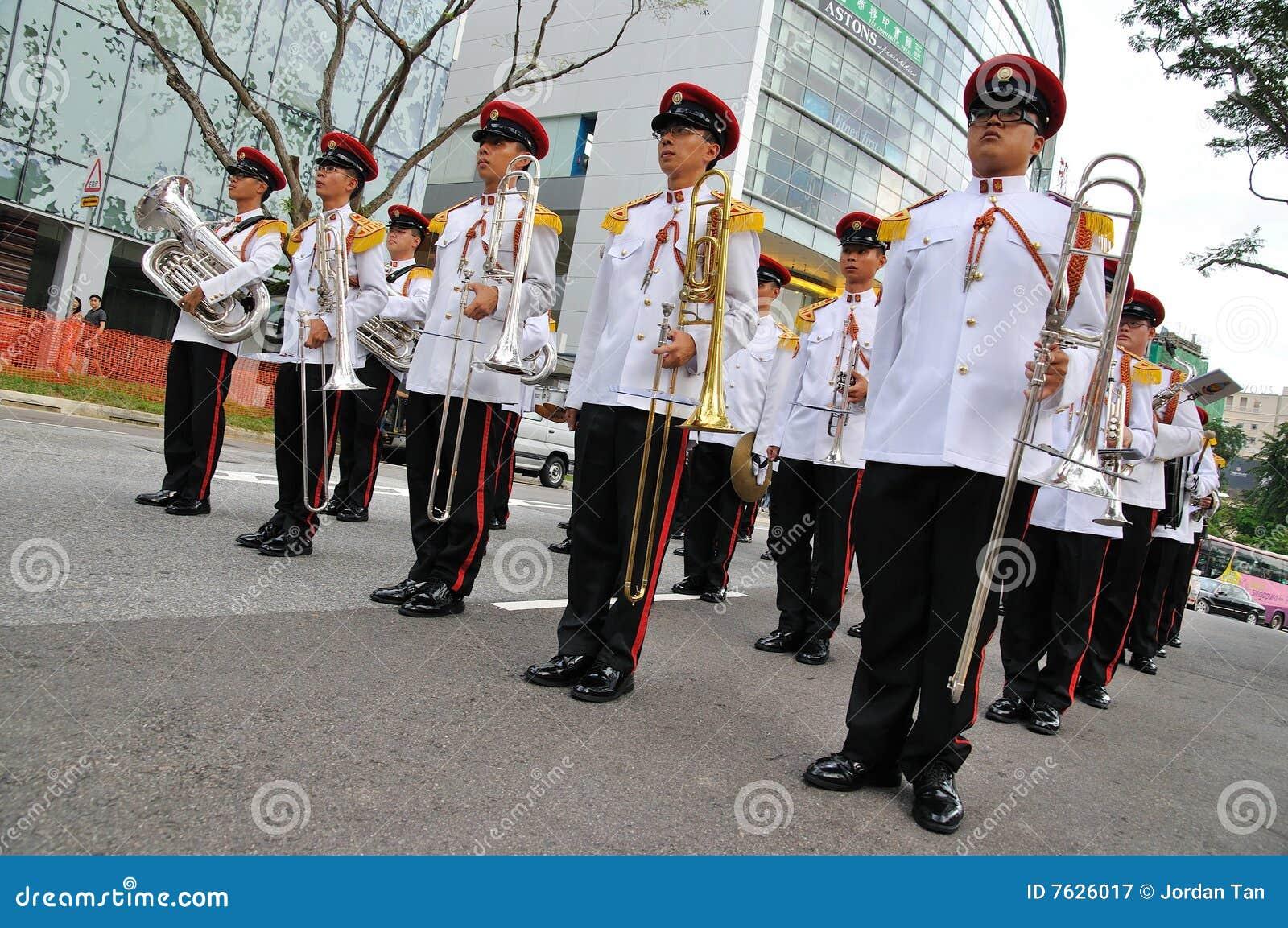 Cambiamento del Presidente di Singapore della parata delle protezioni