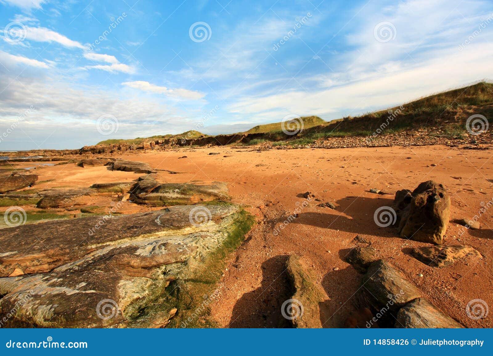 Cambo Sands in Scotland