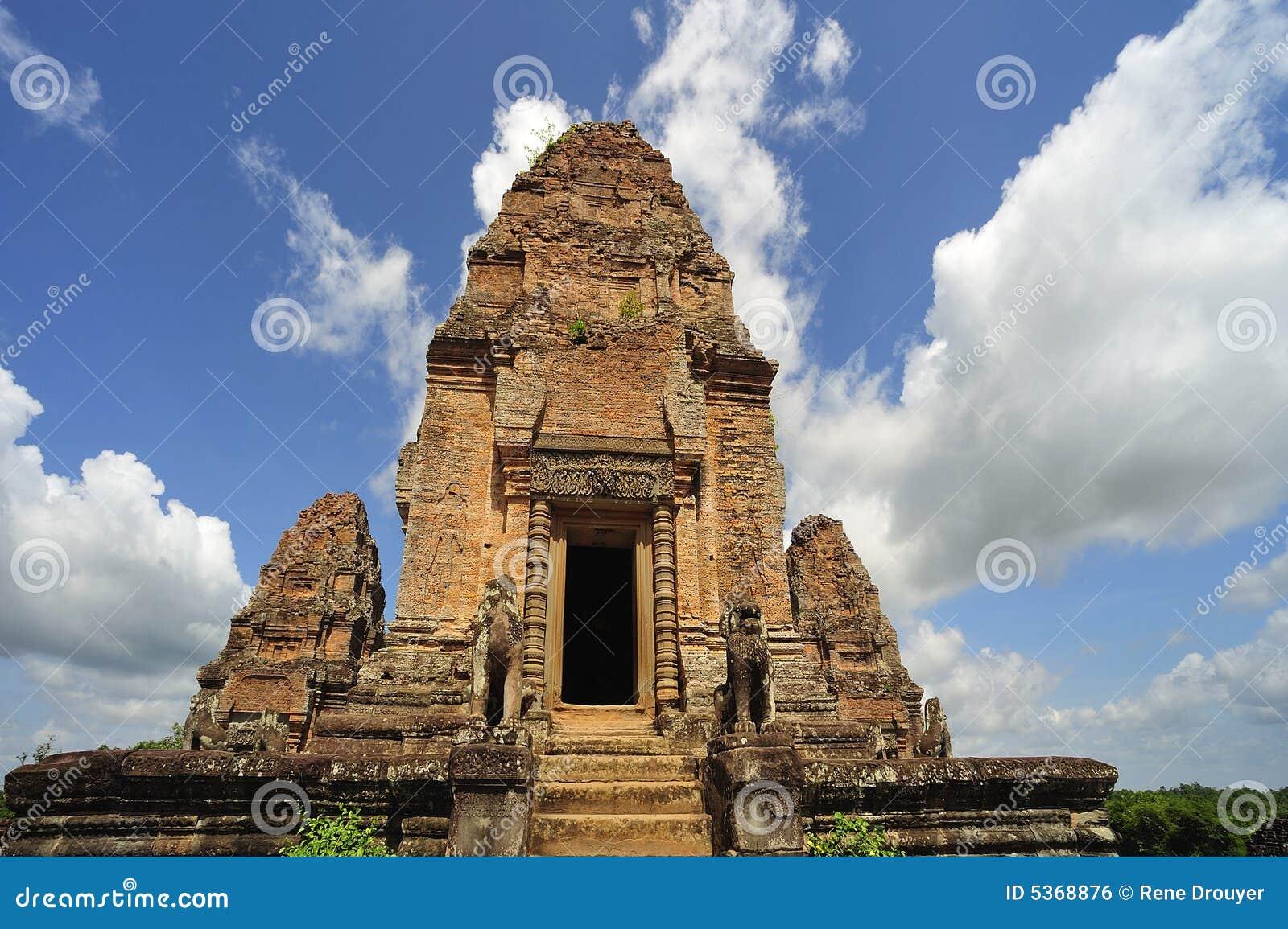 Cambodia Angkor East Mebon temple