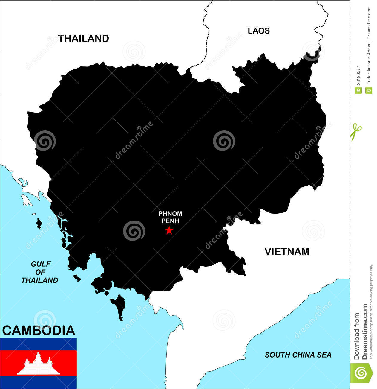 clipart map of cambodia - photo #21
