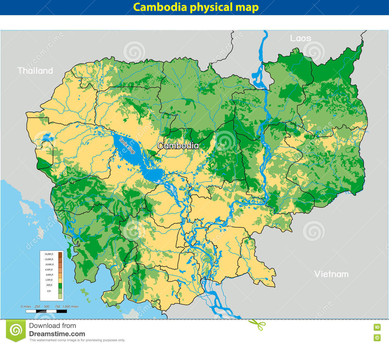 clipart map of cambodia - photo #32