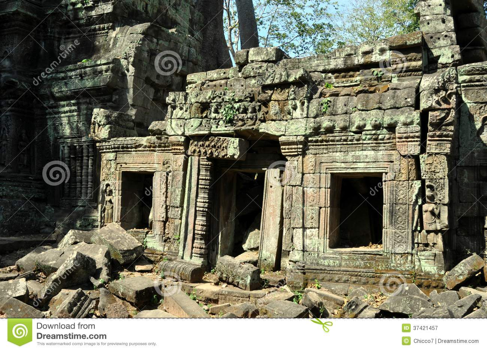 Cambodia - Ta Prohm temple
