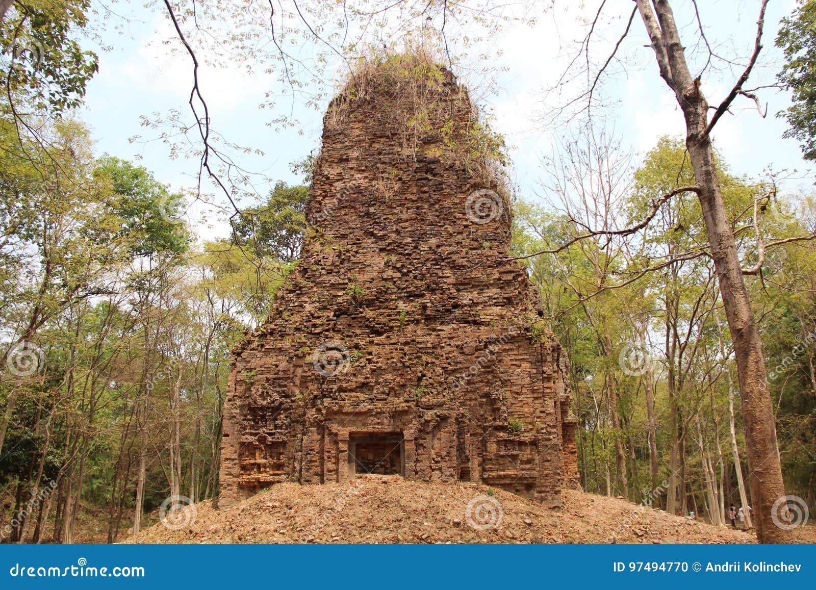 Cambodia Tempio di Sambor Prei Kuk Kampong Thom Province Kampong Thom City