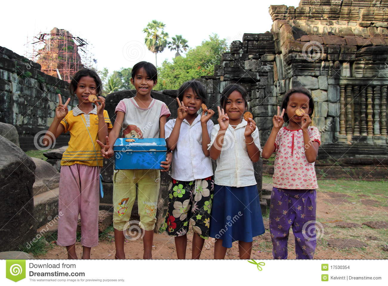 Cambodian Children Editorial Stock Image - Image: 17530354