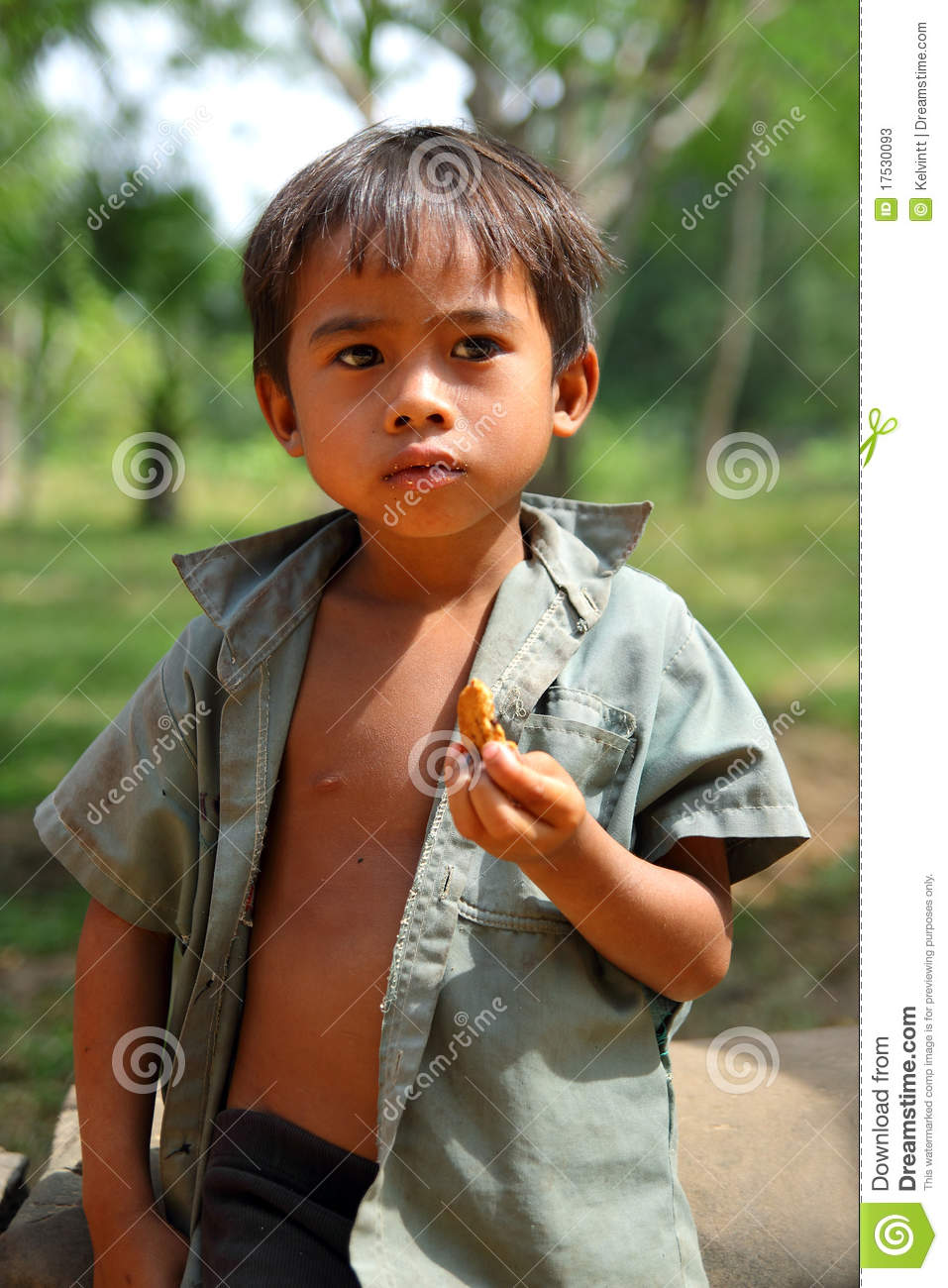 Cambodian kid editorial stock photo image 17530093