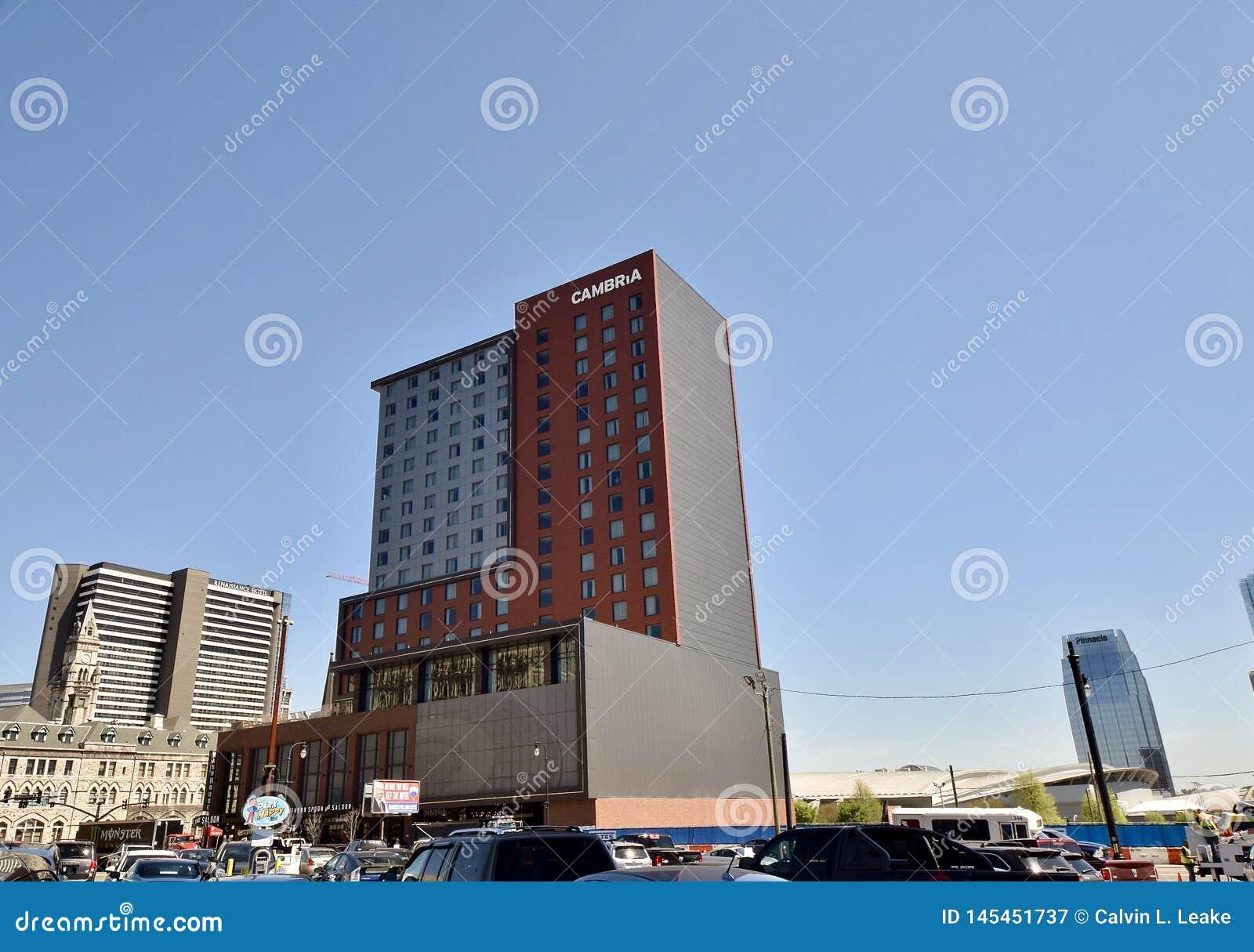 Cambria-Hotel Weitwinkel-Nashville, TN
