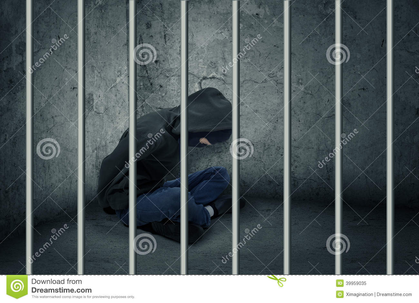 Cambrioleur en prison