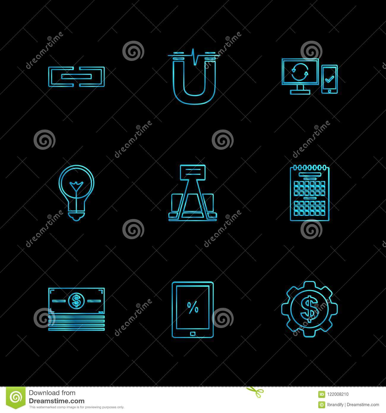 camcoder , camera , video , multimedia , computer , setting , eps icons set vector