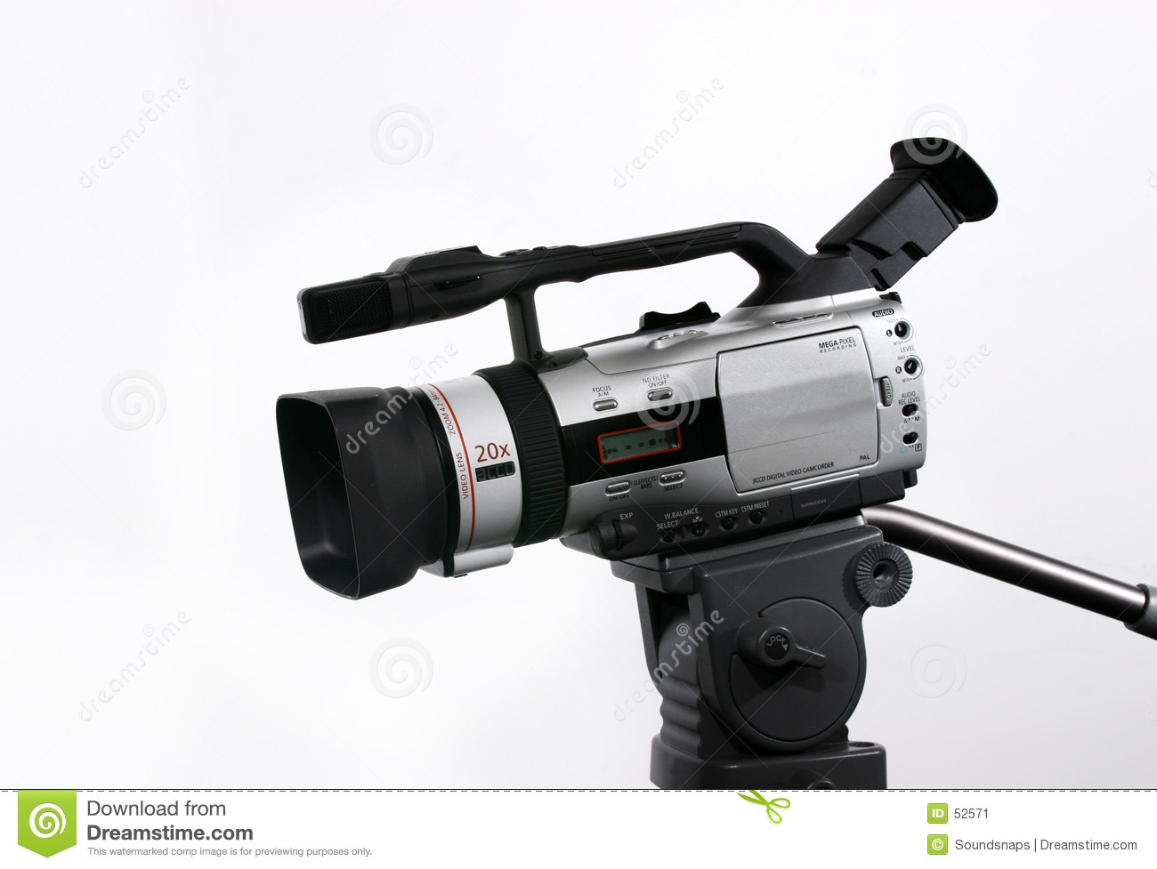Camcorder dv τρίποδο