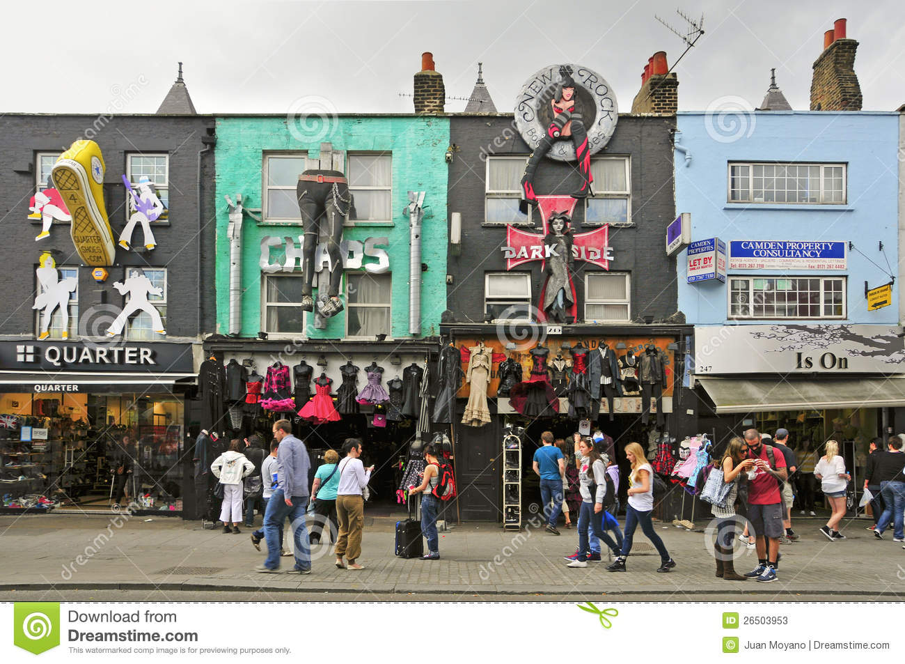 Camden United Kingdom  city photos gallery : LONDON MAY 8: Camden High St on May 8, 2011 in London. Camden Market ...