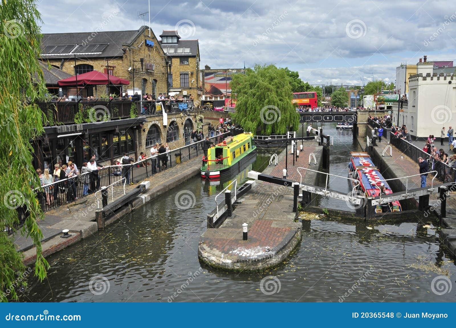 Camden Lock in London, United Kingdom