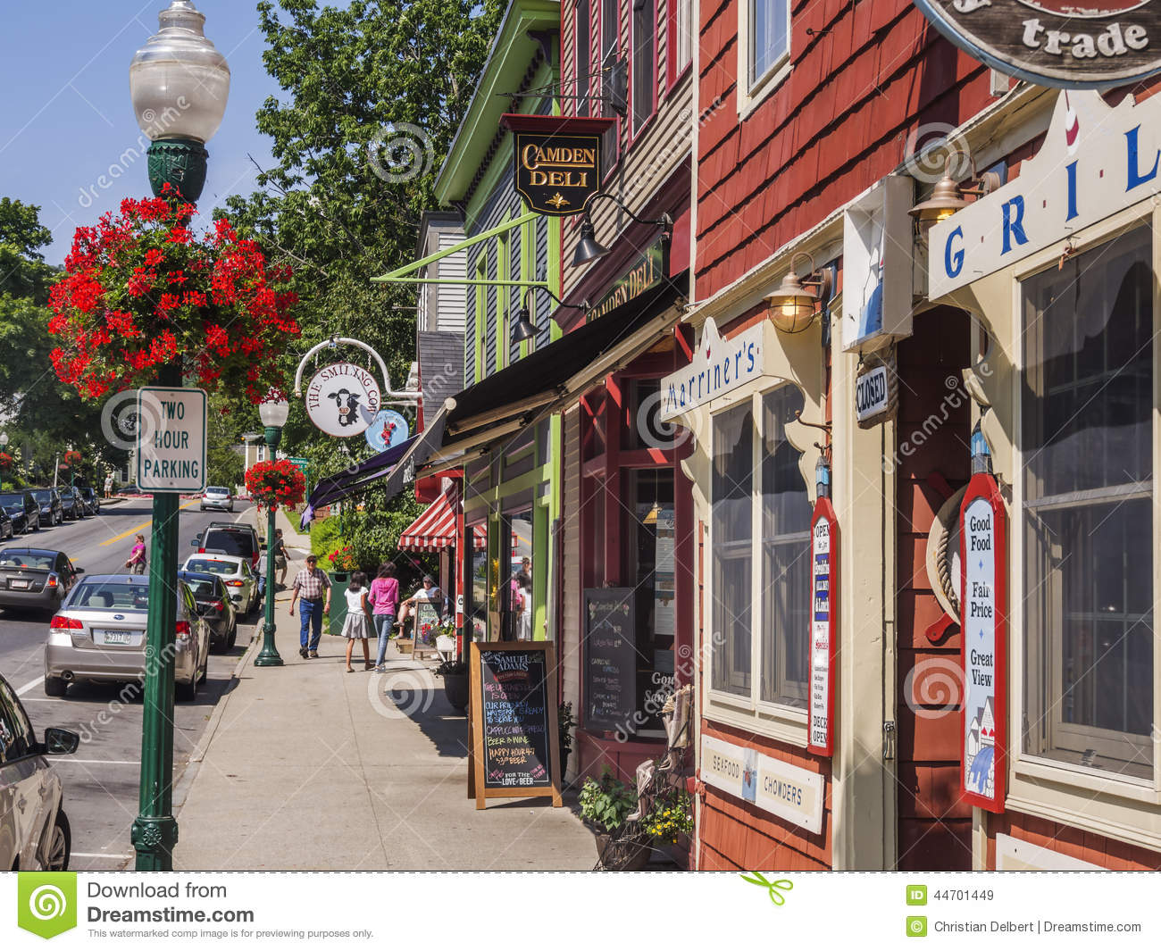 Camden Maine Usa Editorial Stock Image Image 44701449