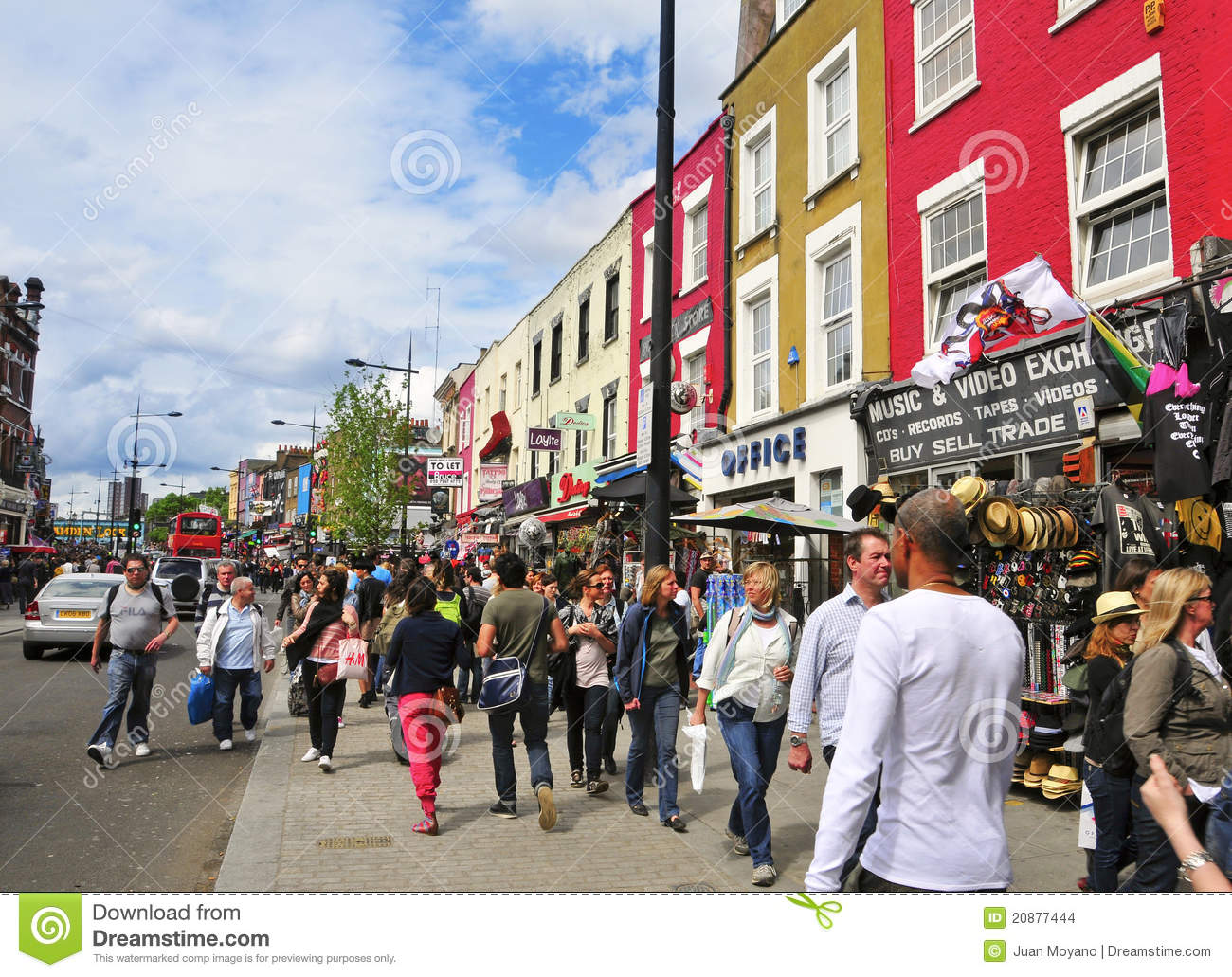 Camden United Kingdom  city photos gallery : LONDON MAY 8: Camden Street in London. Camden Market and streets ...