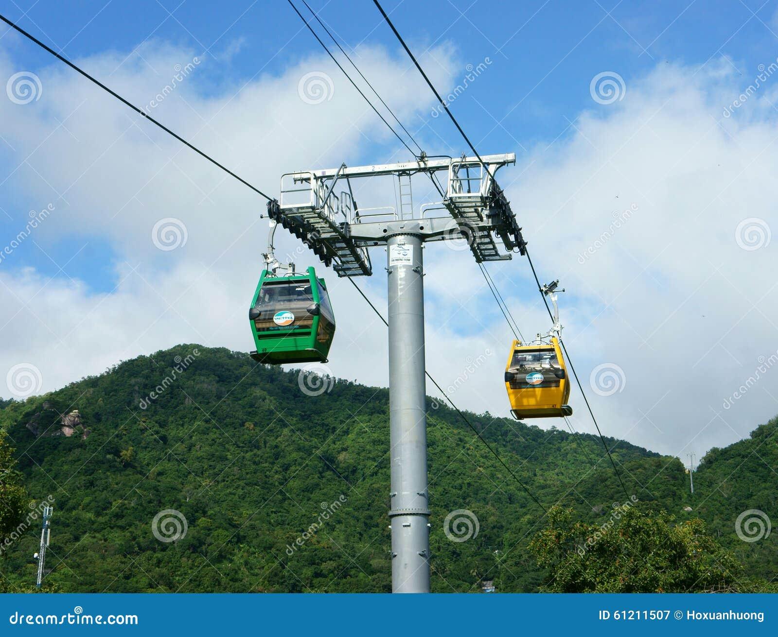 Came de Nui, delta du Mékong, câble de suspension, transport