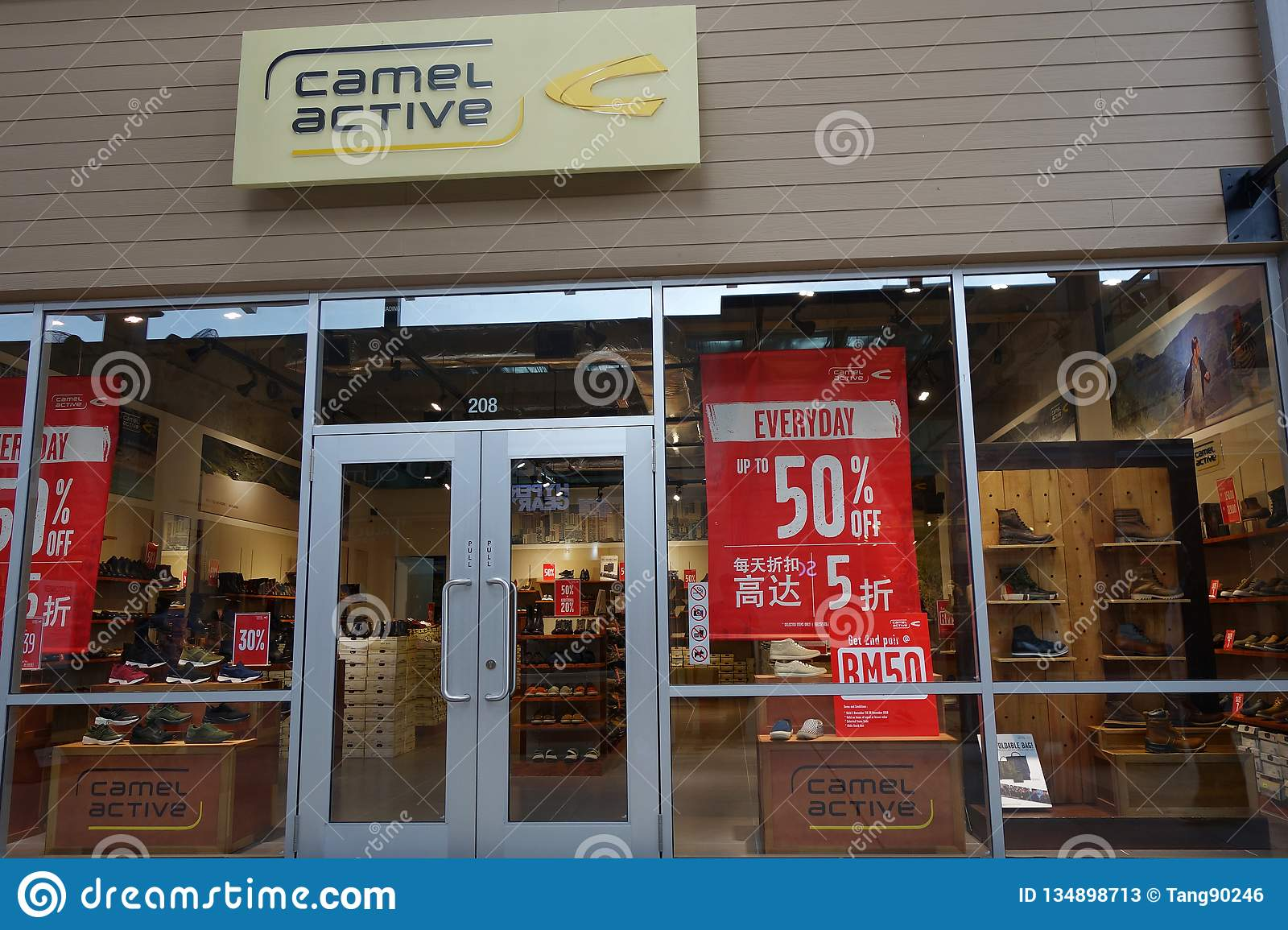 brand new a699d 4ab98 Camel Active Store In Genting Highlands, Malaysia Editorial ...