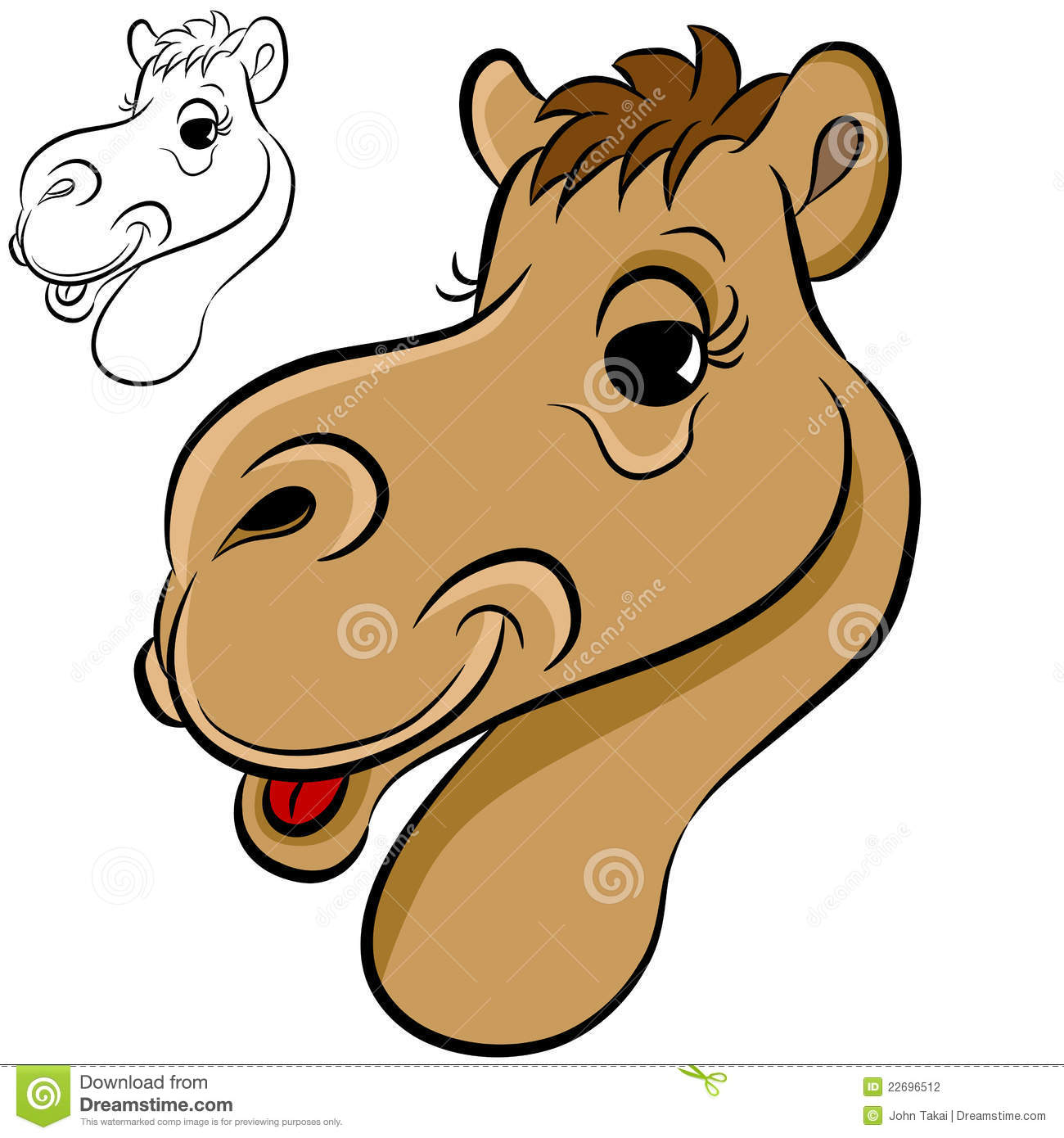 camel face stock photography image 22696512 camel clipart image camel clipart patterns