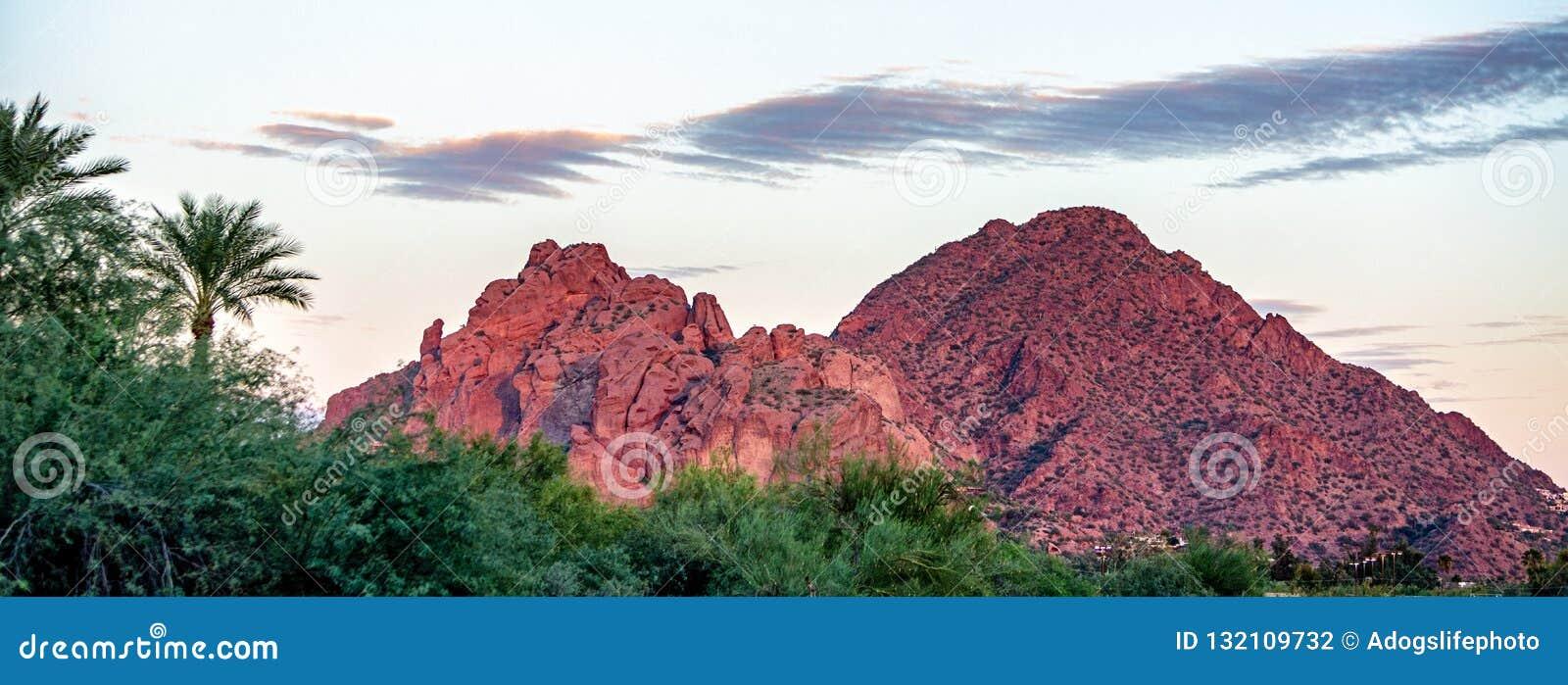 Camelback Mountain Phoenix Arizona USA