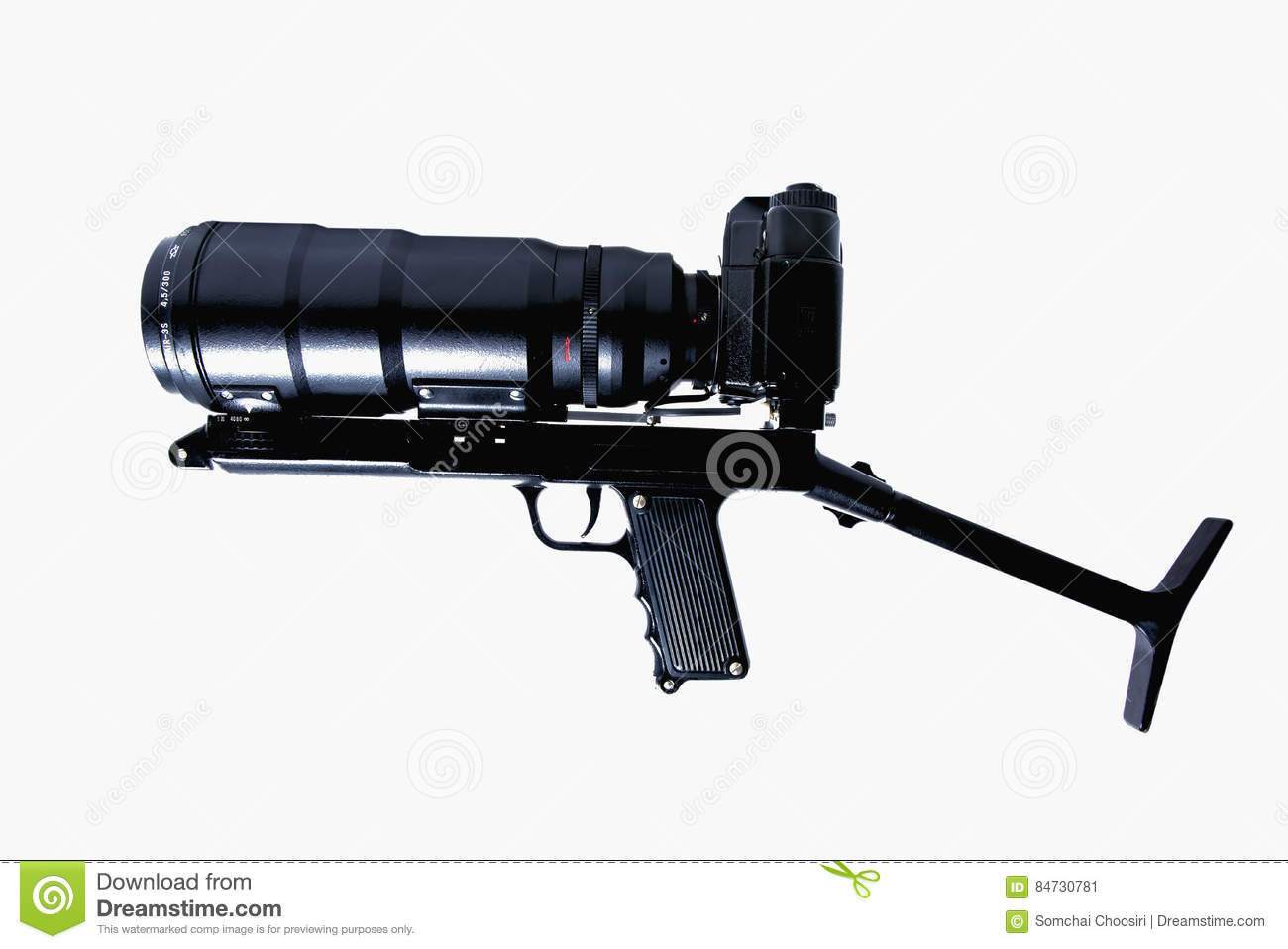 e0a31c376b The Camera Is Actually Held In The Same Manner As A Rifle Stock ...