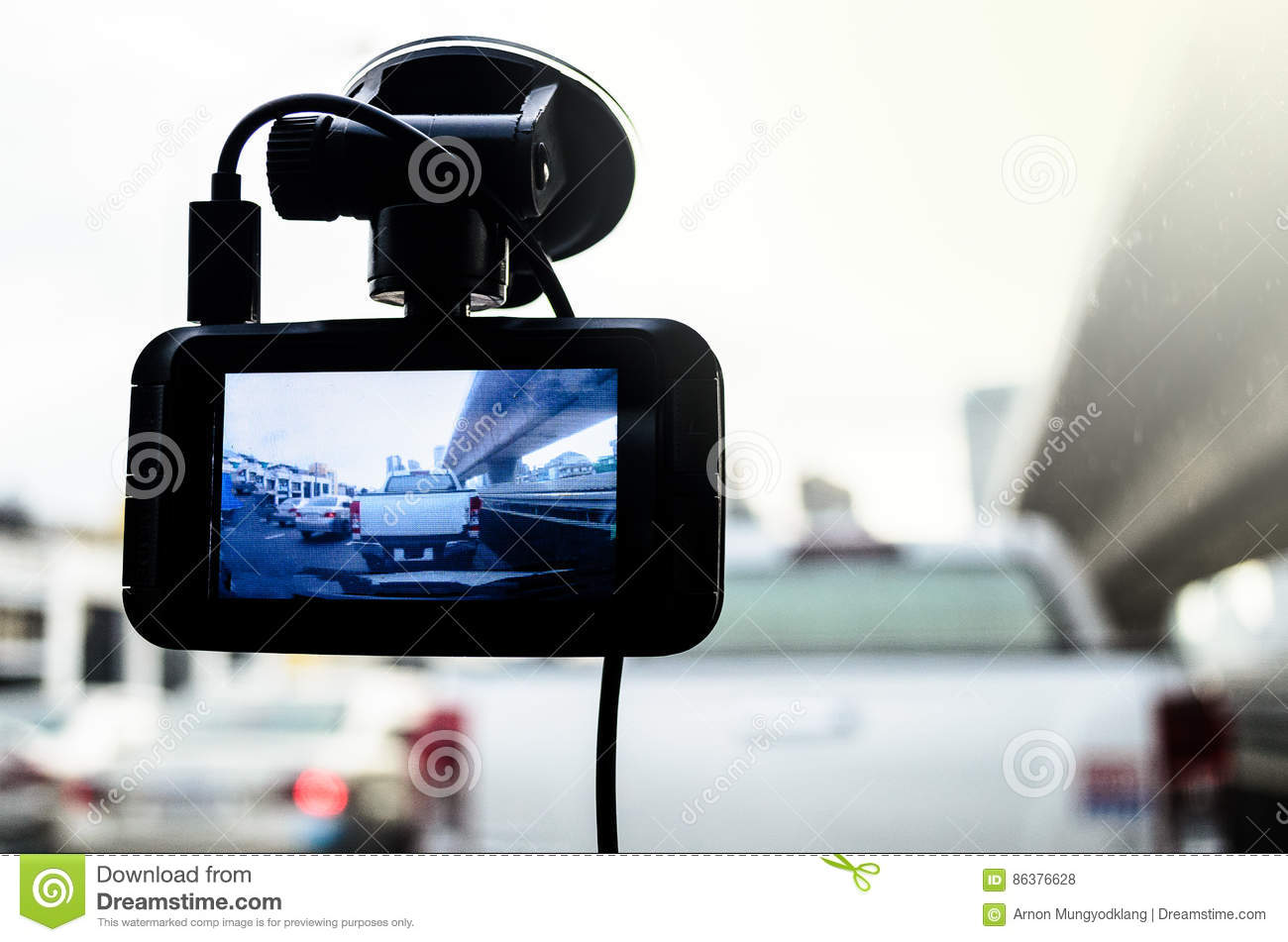 The Camera in Car.