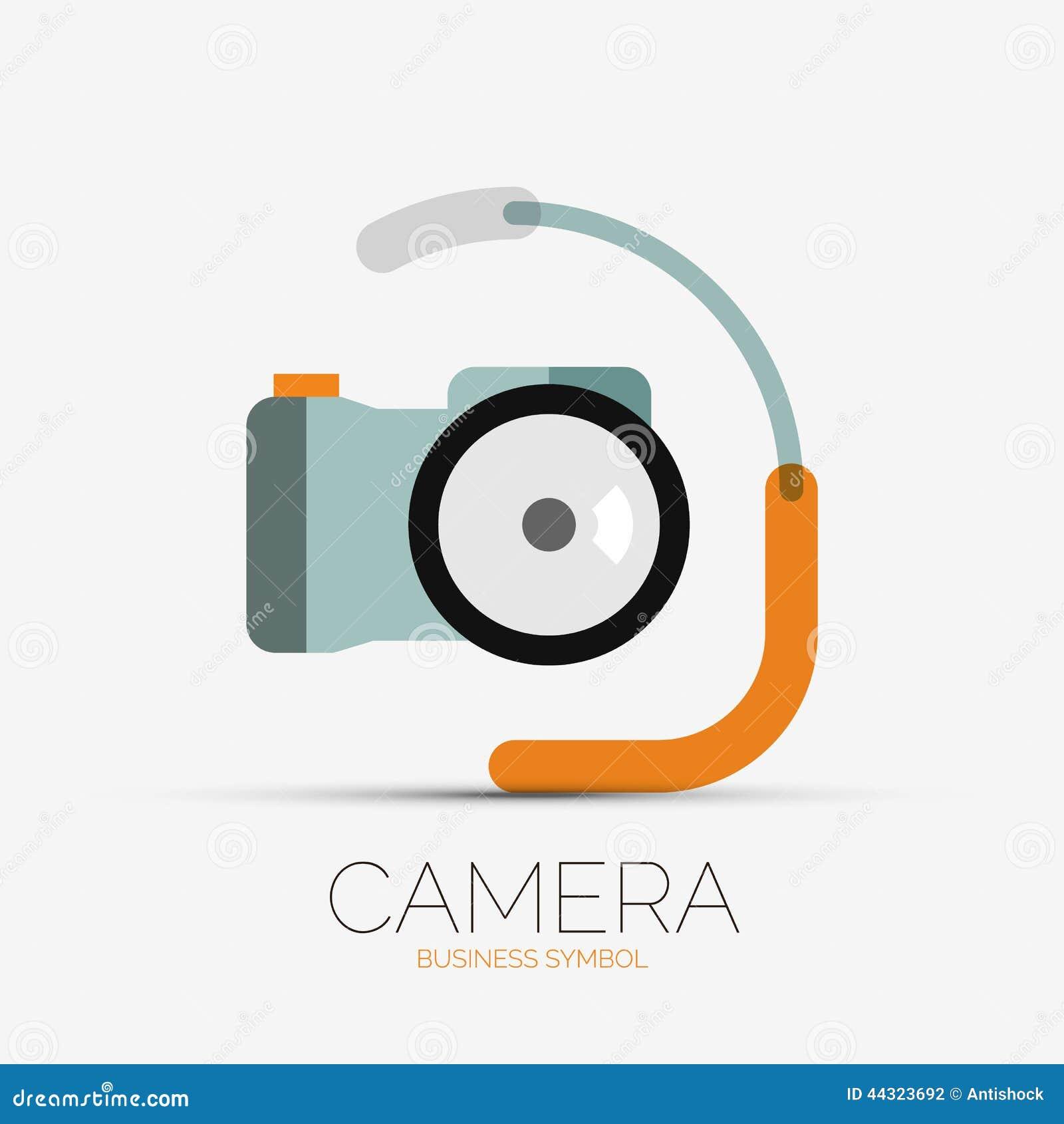 Camera Company Logo Camera company logo, minimal