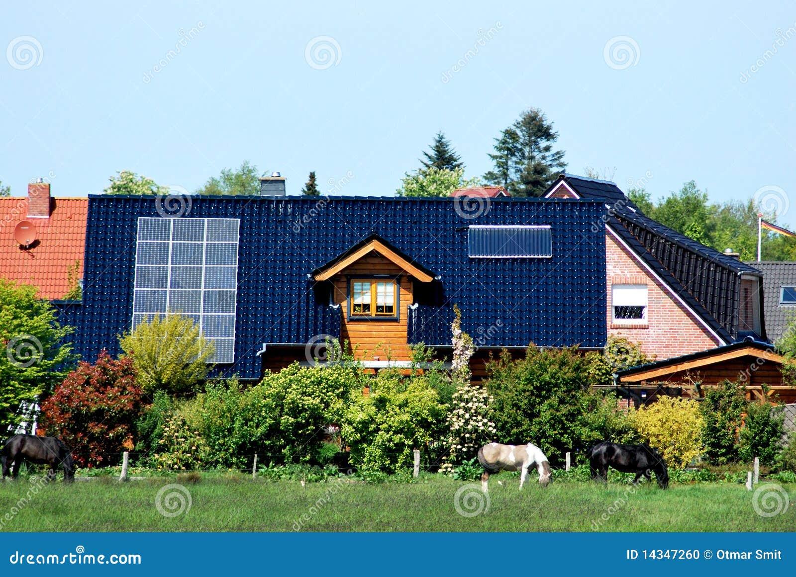 Camera con i comitati solari