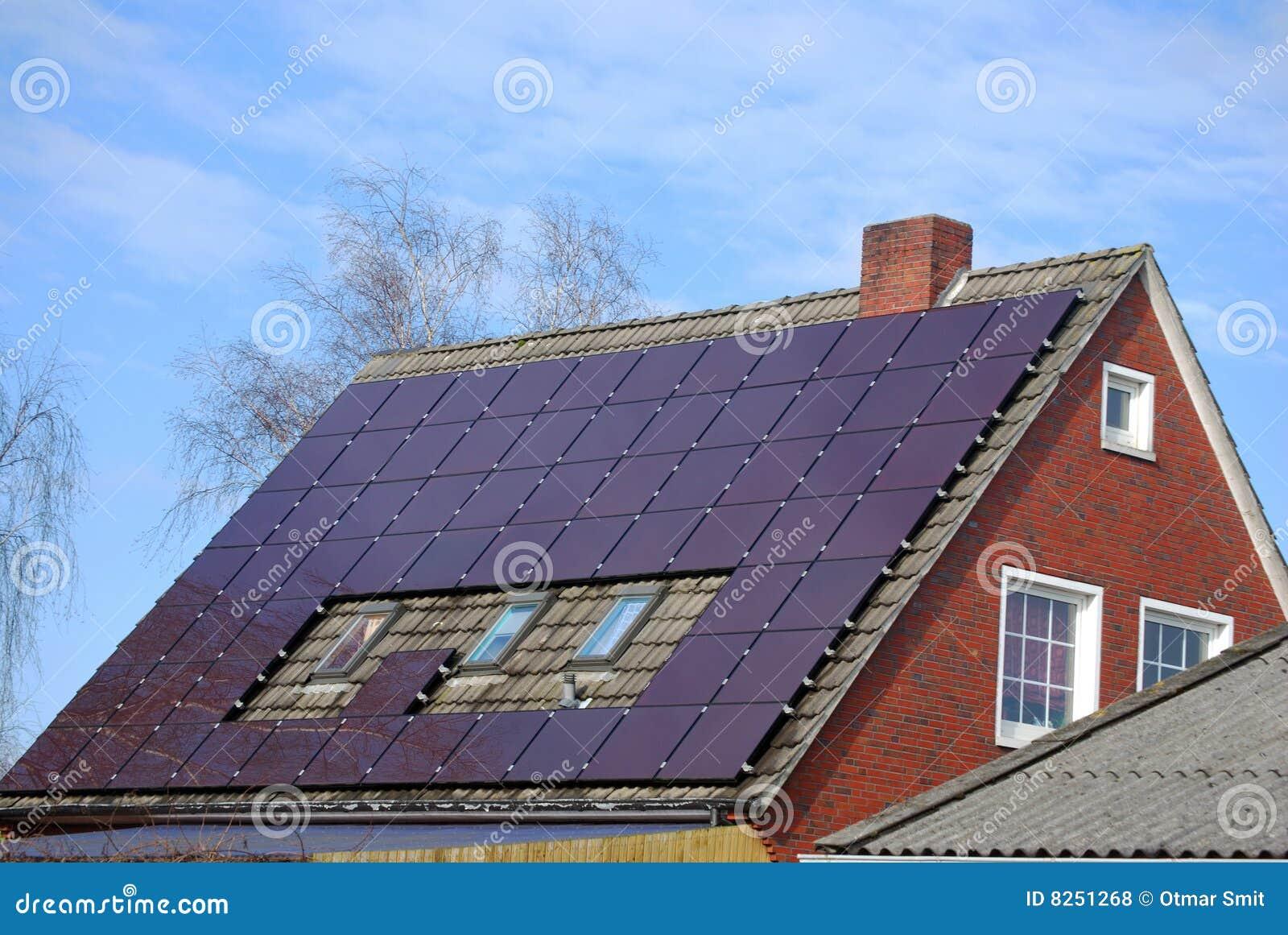 Camera con il sistema fotovoltaico