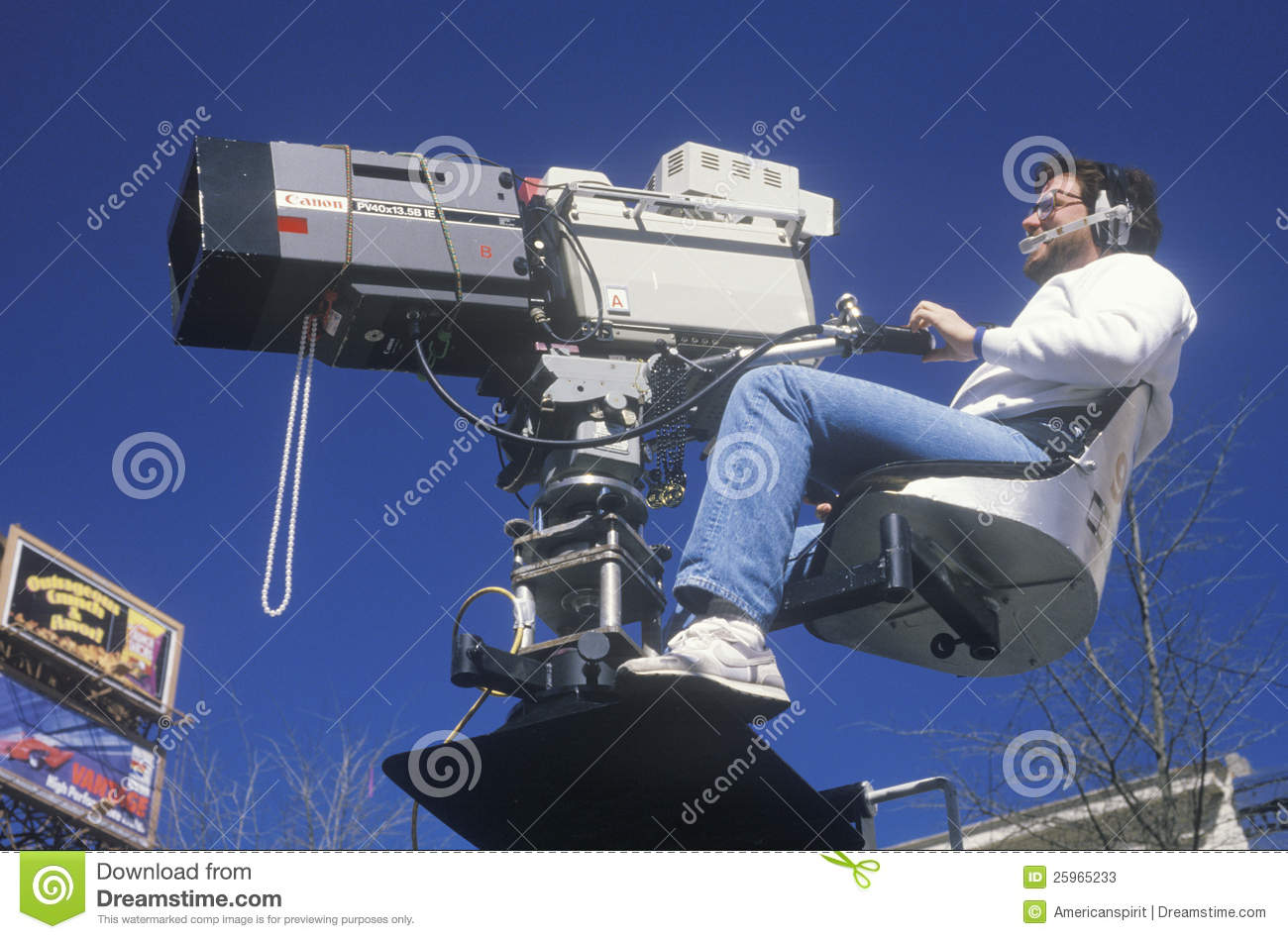 Camera crew editorial stock photo  Image of cinematographer