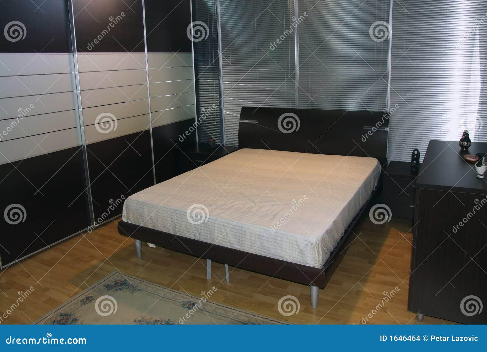 Camera da letto fotografia stock. Immagine di casa, sognare - 1646464