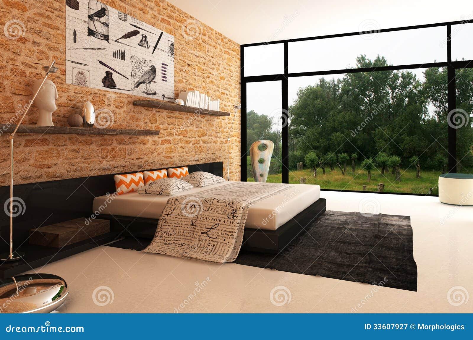 Beautiful Camera Da Letto In Muratura Contemporary - House Interior ...