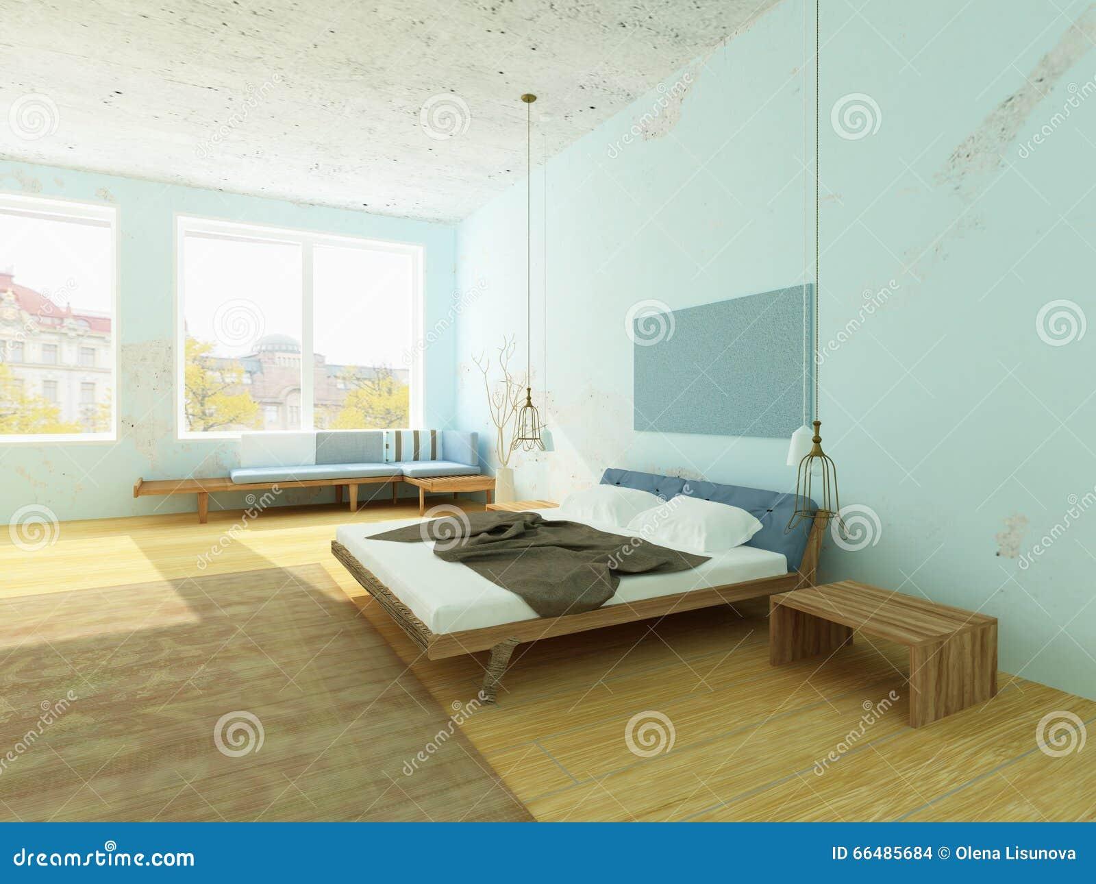 Pareti Camere Da Letto Blu ~ Idee Creative di Interni e Mobili
