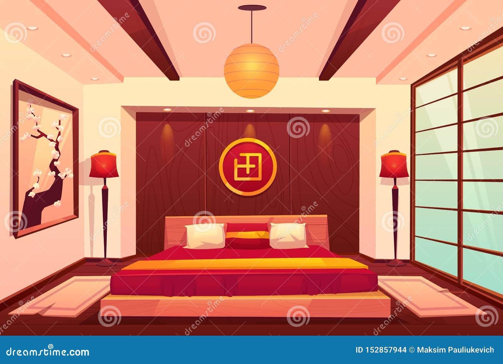 Le Cinesi A Letto.Camera Da Letto Asiatica Cinese Giapponesi Stanza Orientale