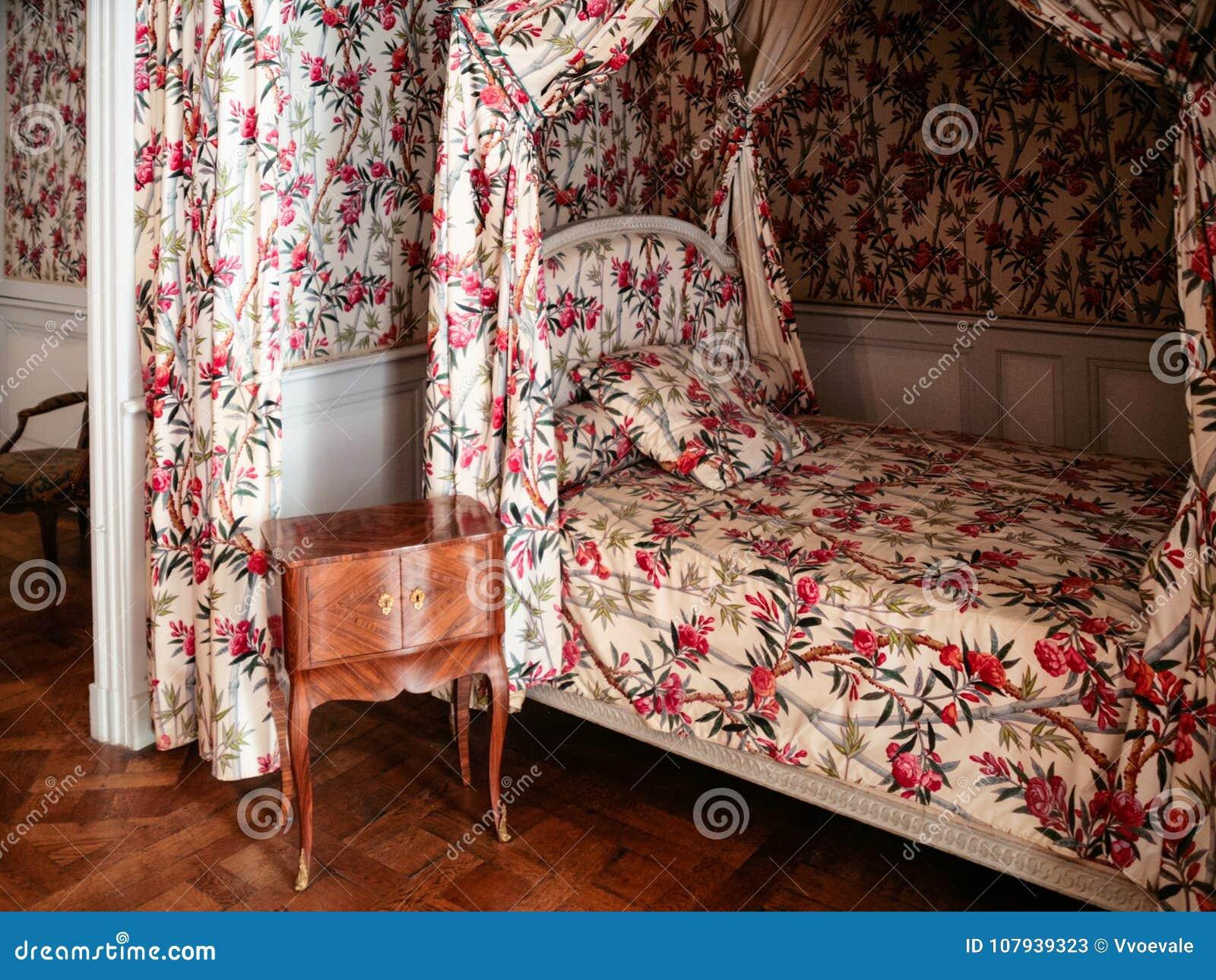 Letto A Castello Camera Da Letto.Camera Da Letto In Castello Chateau De Chambord In Frace