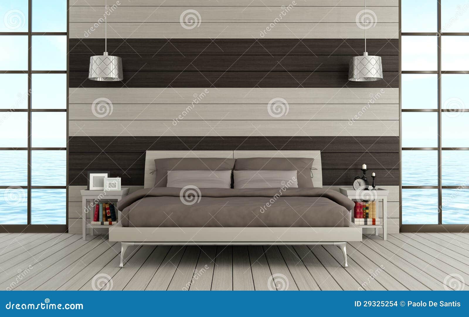 Camera da letto contemporanea immagini stock immagine - Camera da letto contemporanea ...